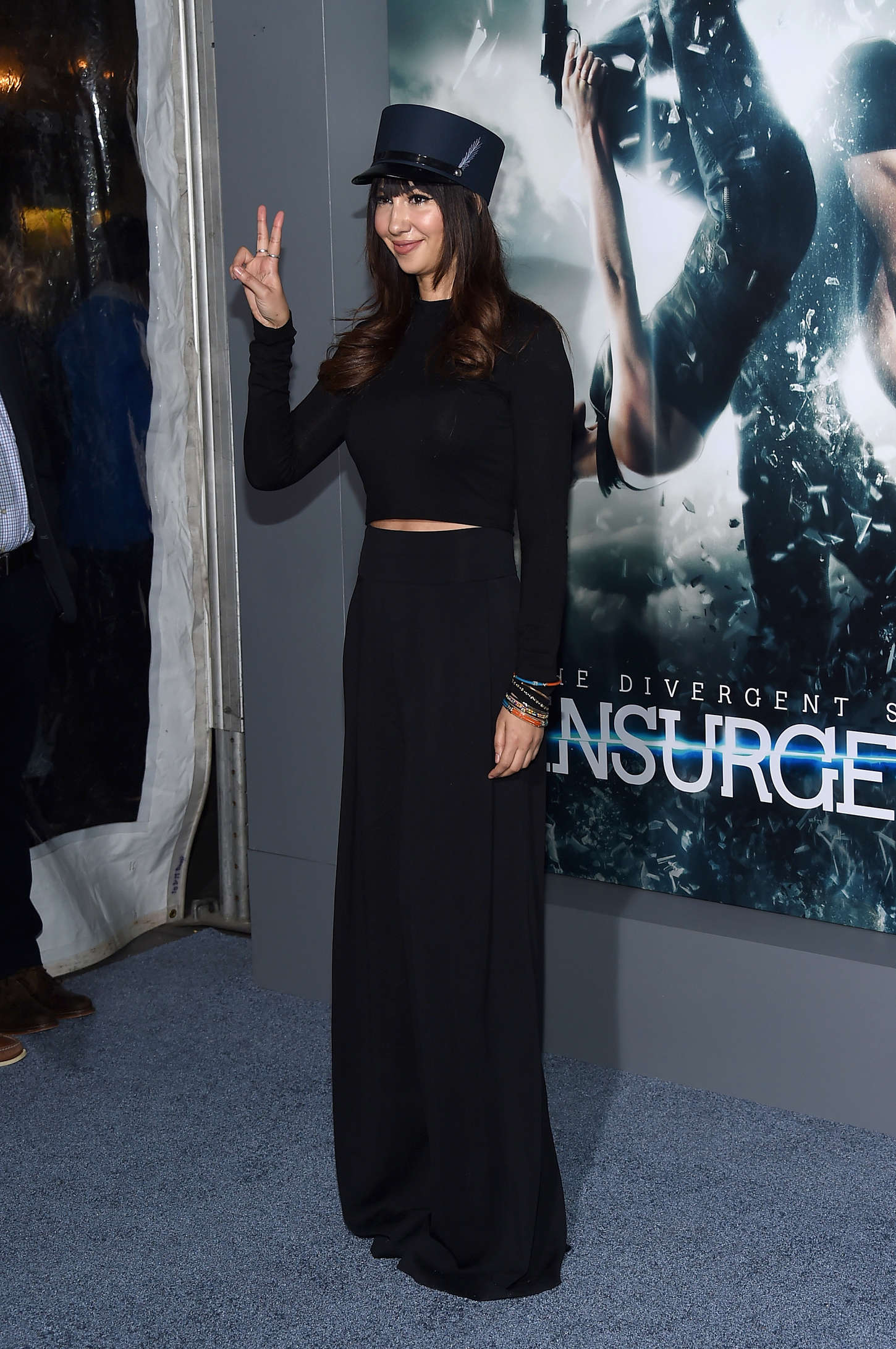 Jackie Cruz Insurgent Premiere in New York