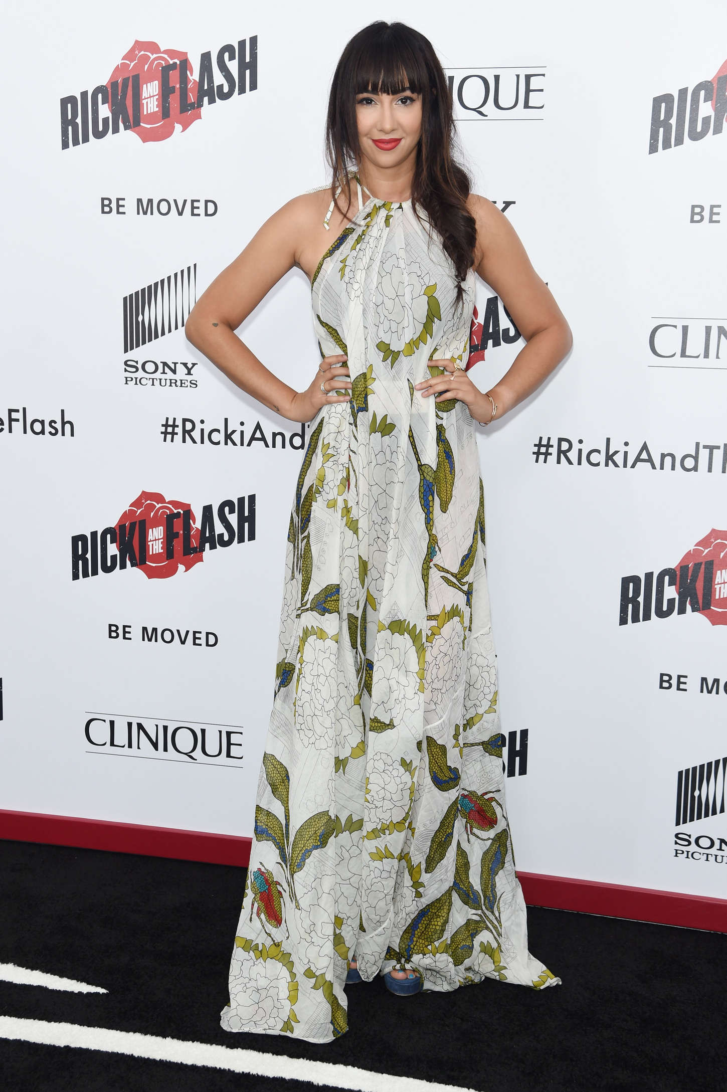 Jackie Cruz Ricki And The Flash Premiere in New York