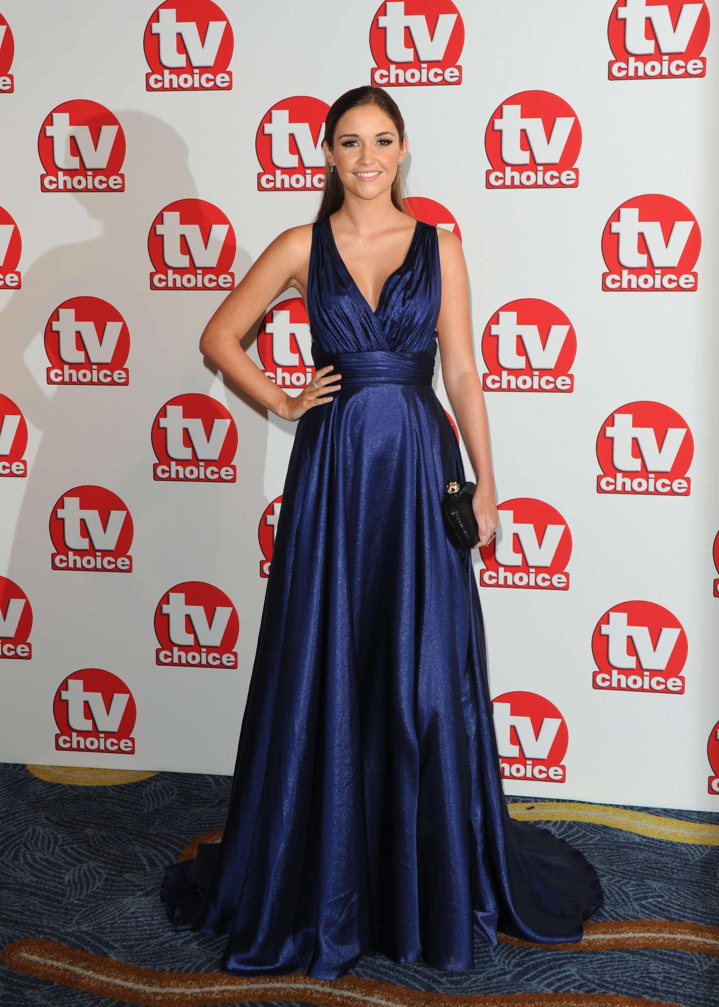 Jacqueline Jossa TV Choice Awards in London