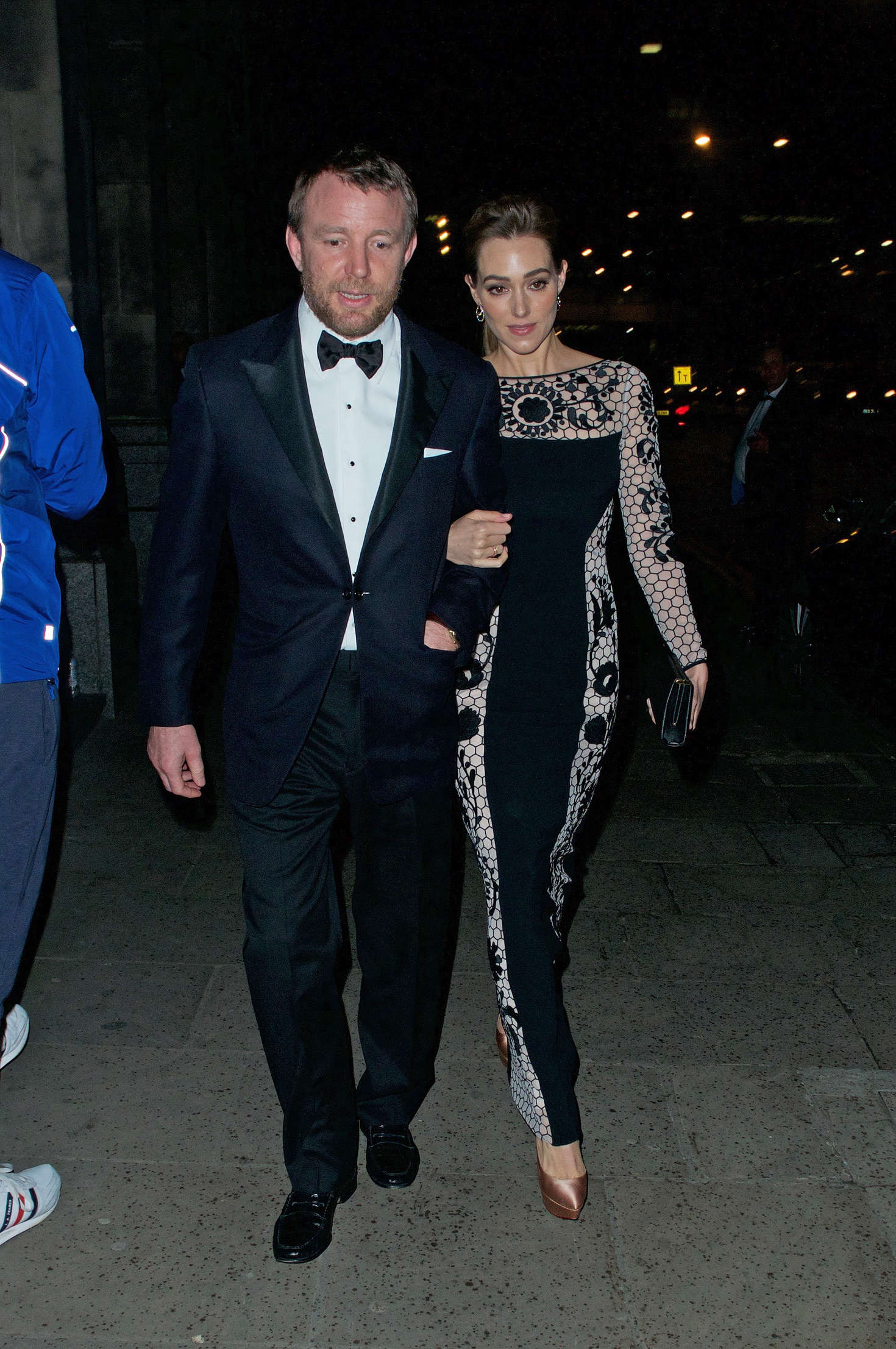 Jacqui Ainsley Leaving the Princes Trust Gala Dinner in London