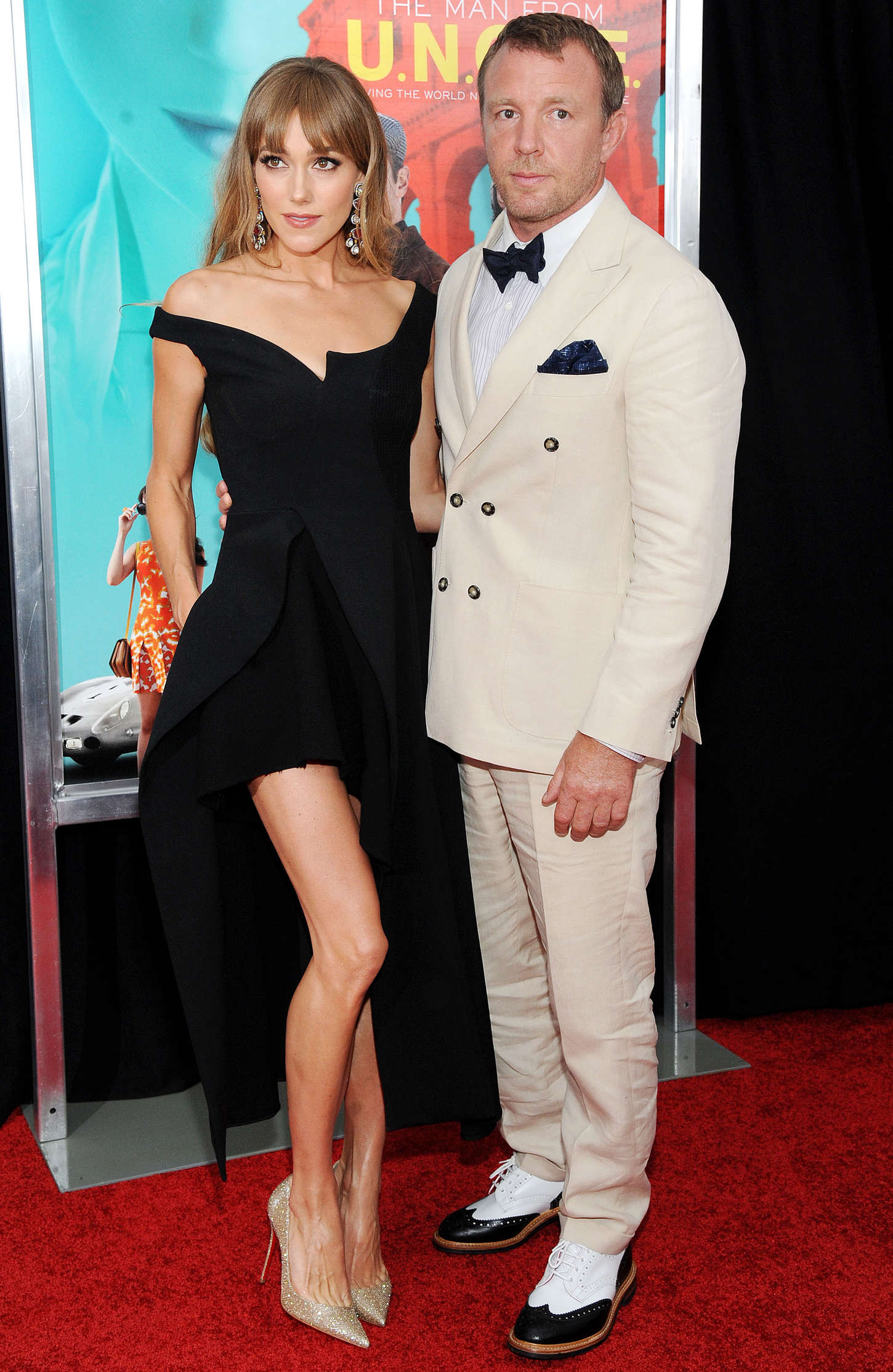 Jacqui Ainsley The Man From U.N.C.L.E. Premiere in New York