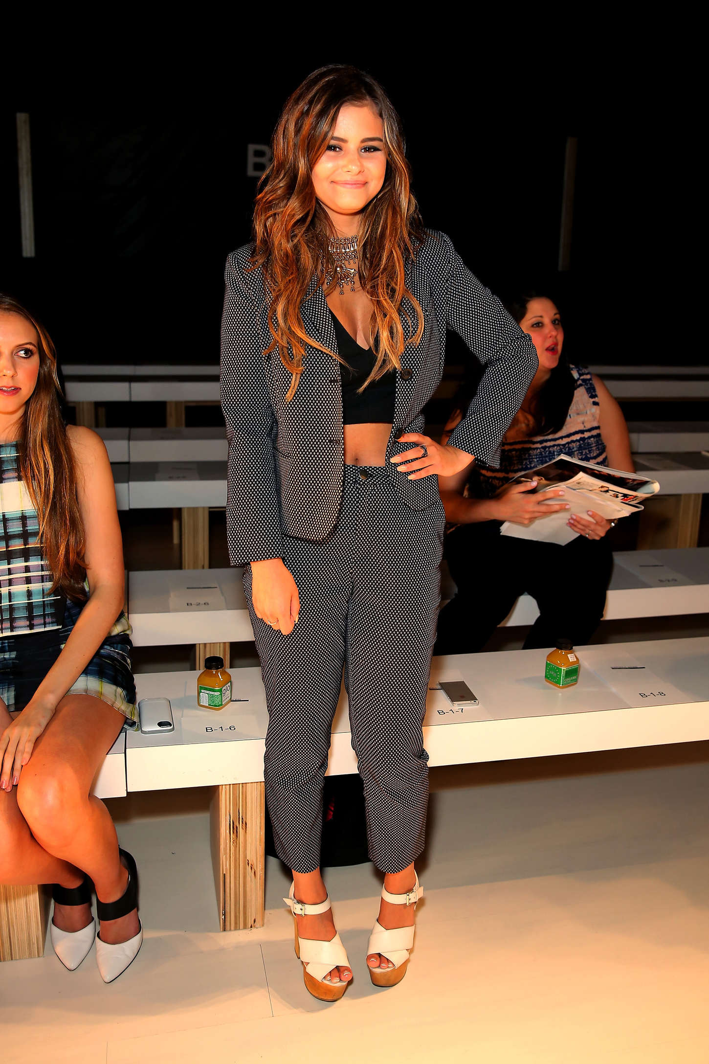 Jacquie Lee Marissa Webb Fashion Show in New York