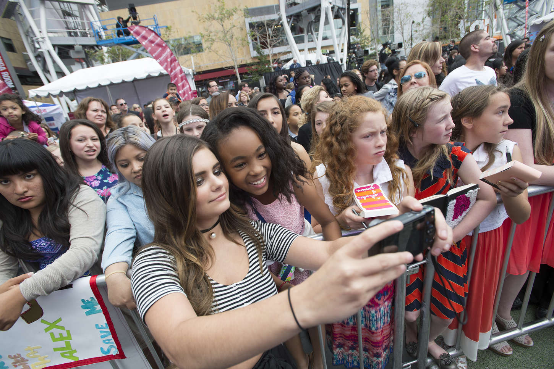 Jacquie Lee Radio Disney Music Awards in Los Angeles