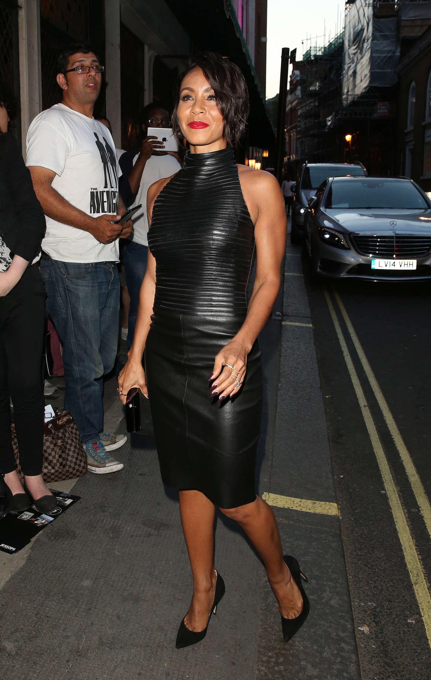 Jada Pinkett Smith The Ivy in London