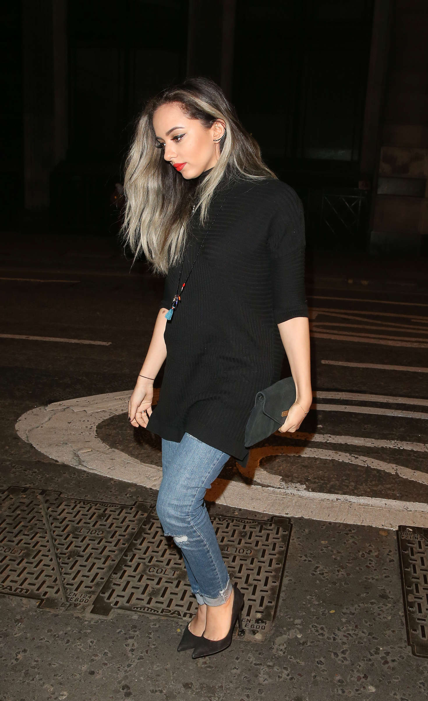 Jade Thirlwall at Steam Rye Club in London