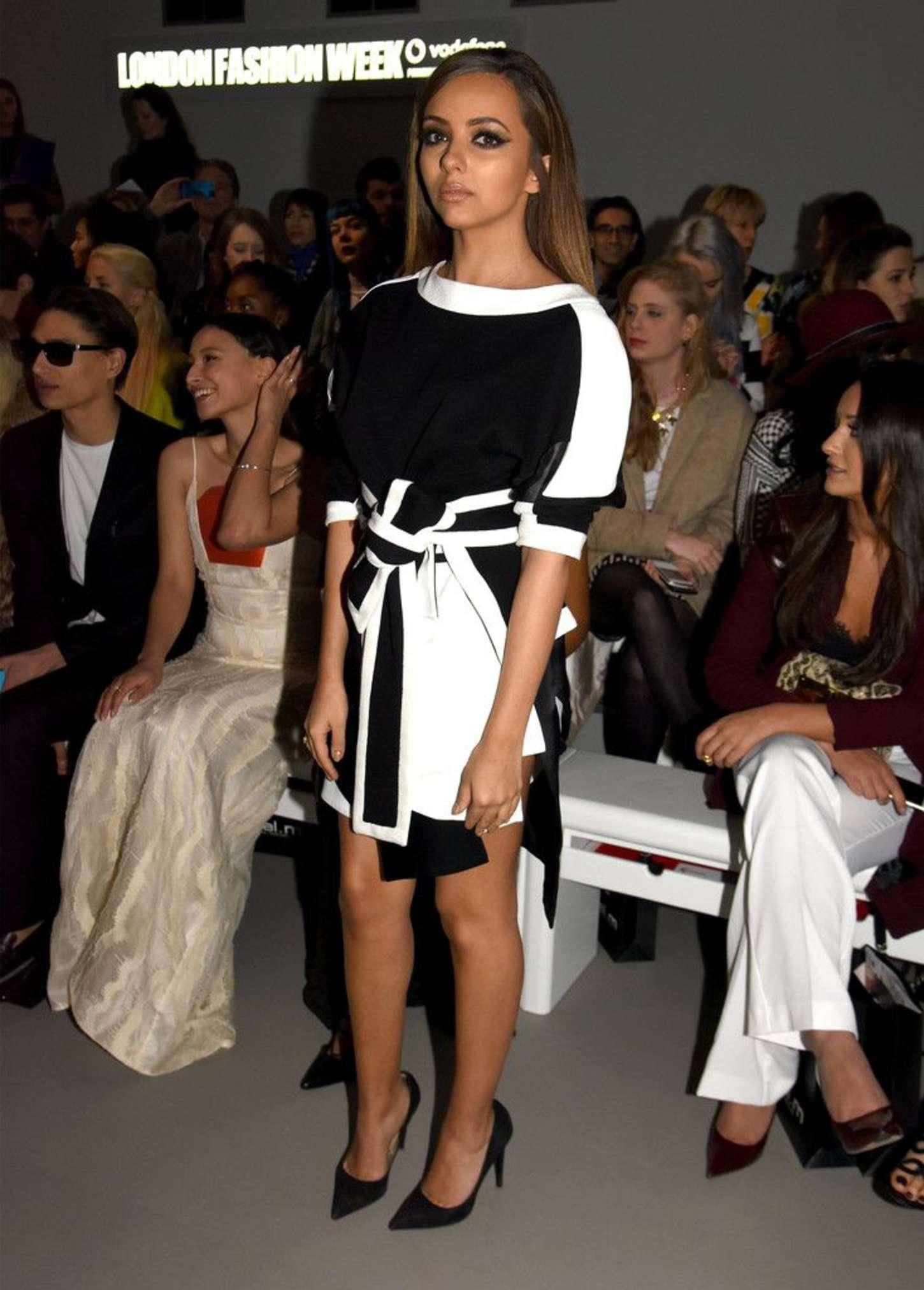 Jade Thirlwall Jean-Pierre Braganza Fashion Show in London