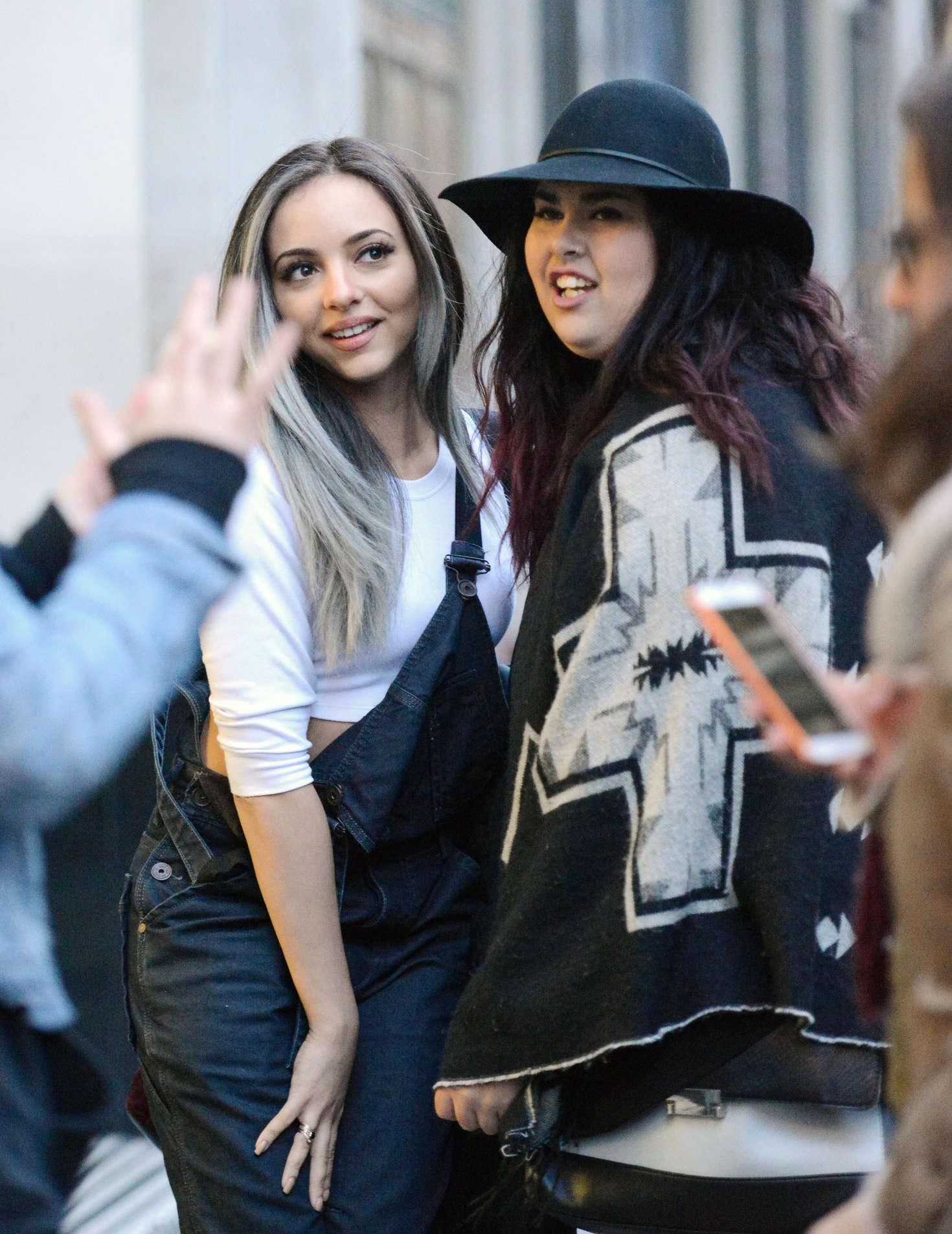 Jade Thirlwall Leaving offices in London