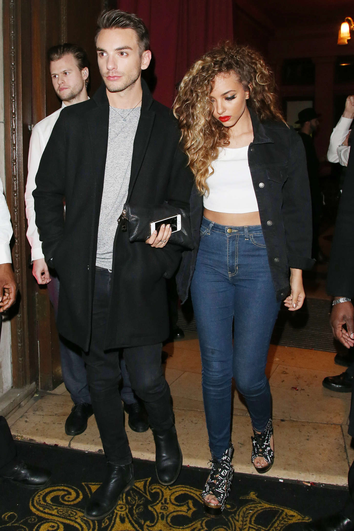 Jade Thirlwall Night out in London