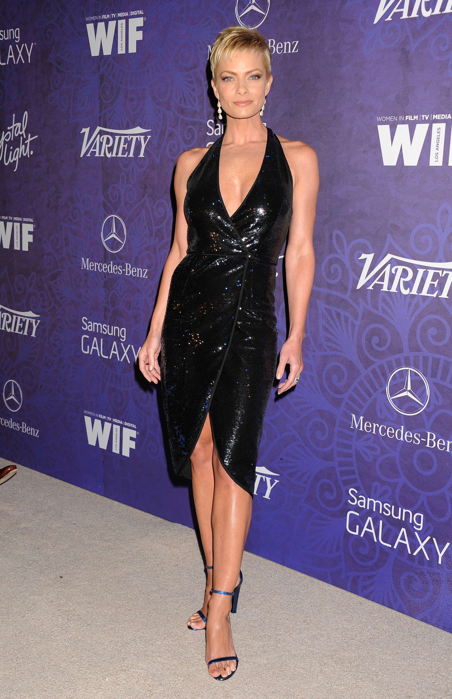 Jaime Pressly Variety and Women in Film Emmy Nominee Celebration in West Hollywood
