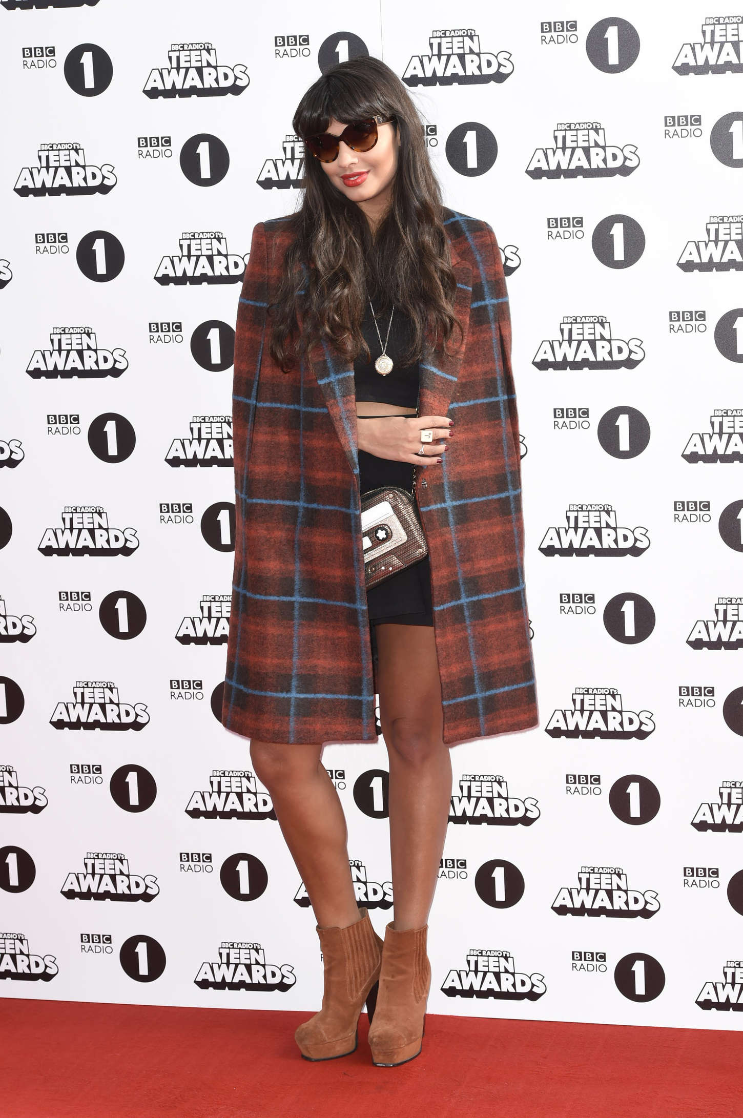 Jameela Jamil Radio One Teen Awards at Wembley Arena in London