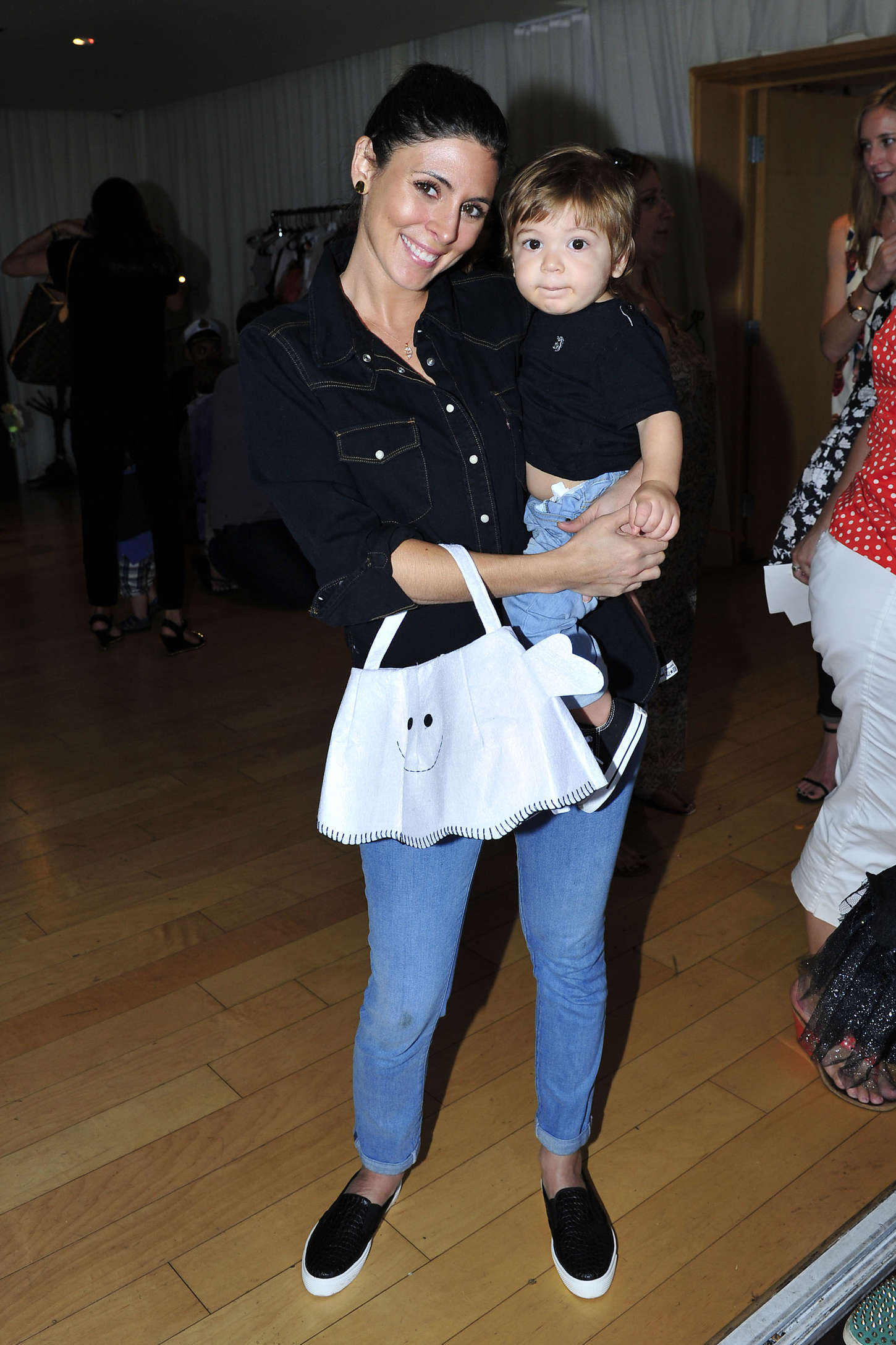 Jamie-Lynn Sigler Pottery Barn Kids Celebrates Halloween in Los Angeles