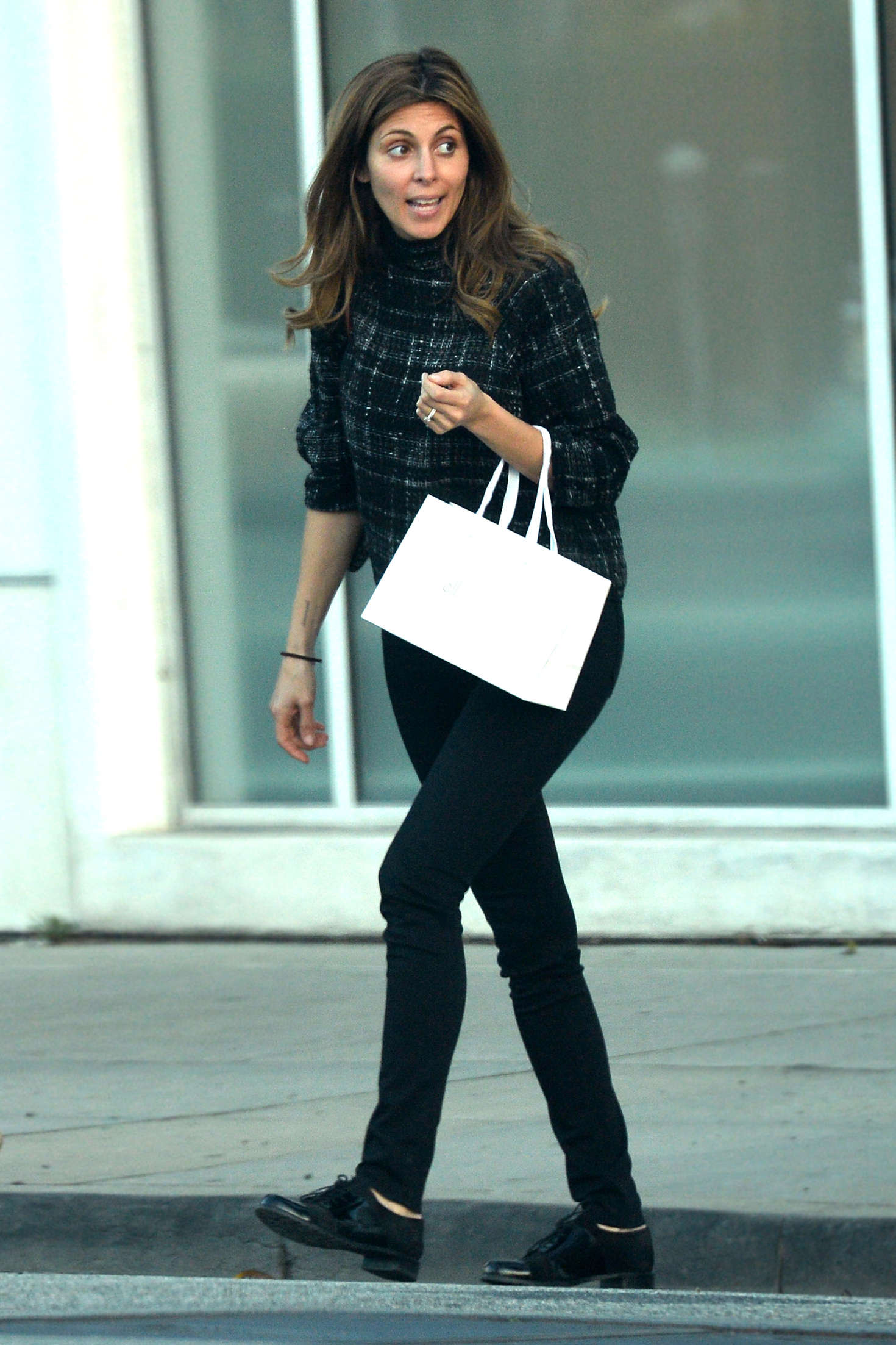 Jamie Lynn Sigler Shopping in Beverly Hills