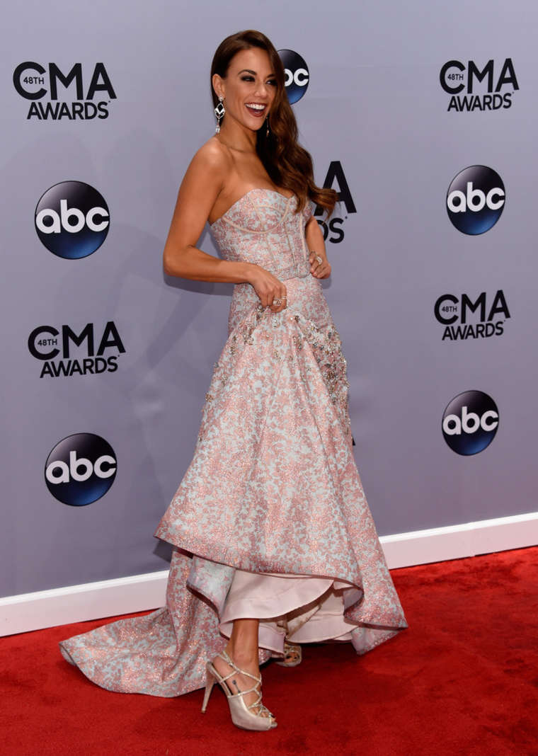 Jana Kramer at Annual CMA Awards in Nashville
