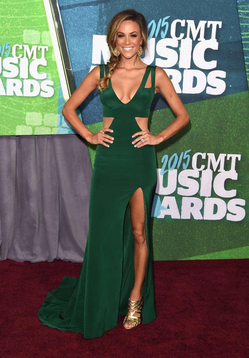 Jana Kramer CMT Music Awards in Nashville