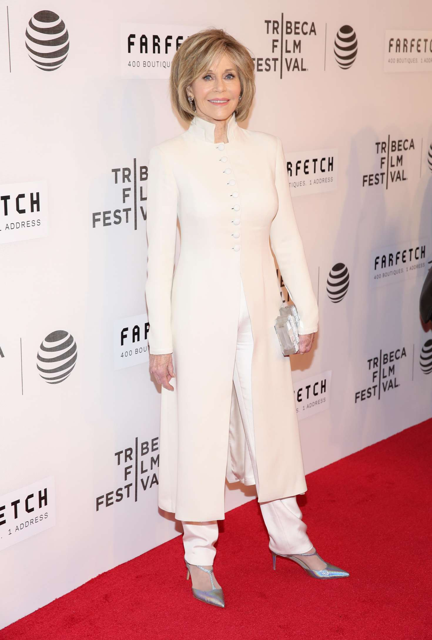 Jane Fonda The First Monday in May Premiere at the Tribeca Film Festival in New York