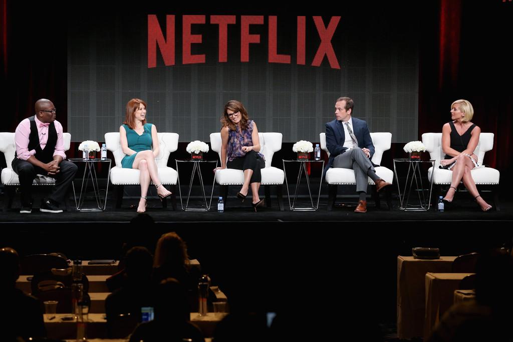 Jane Krakowski Unbreakable Kimmy Schmidt Panel Discussion at Summer TCA Tour in Beverly Hills