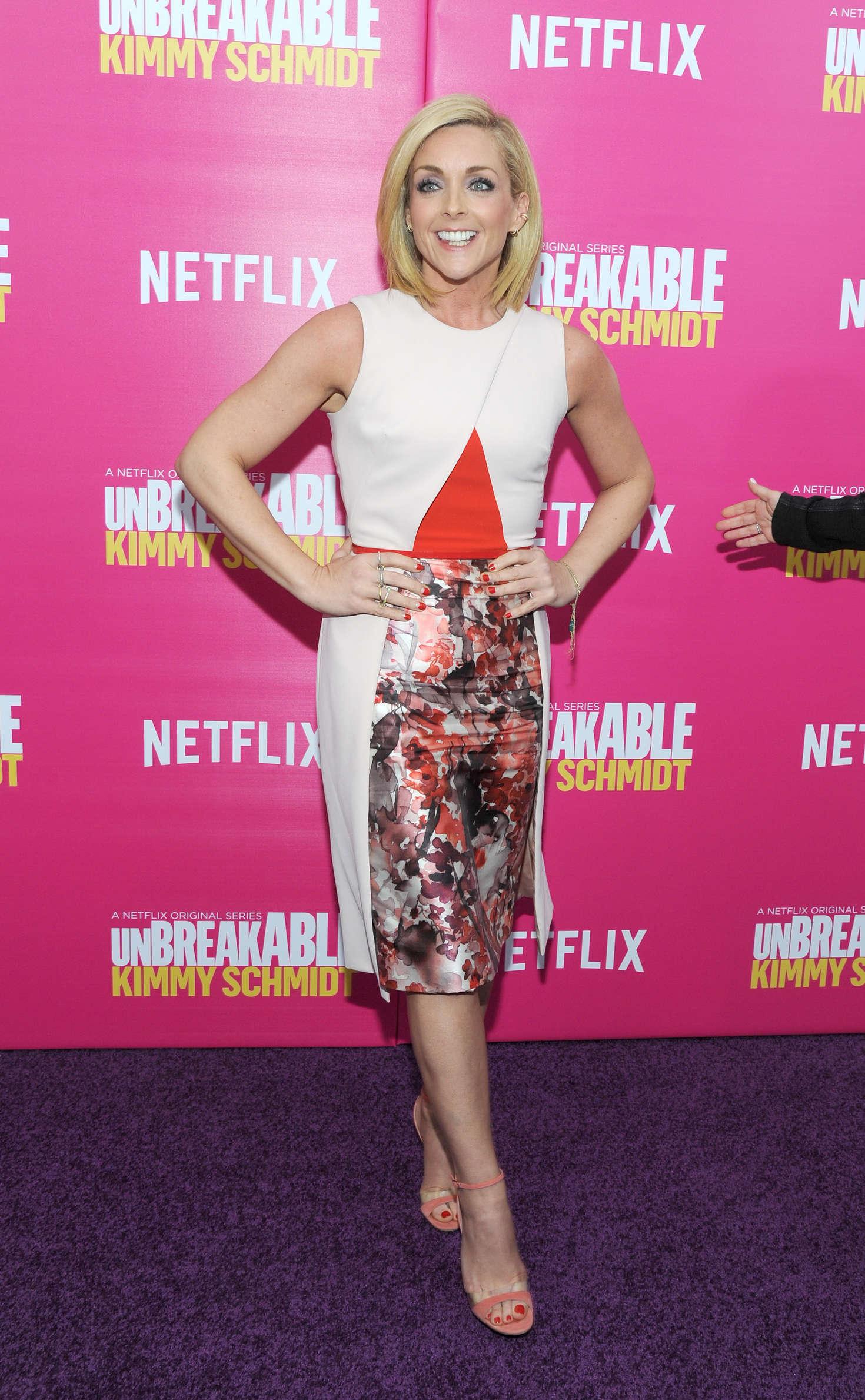 Jane Krakowski Unbreakable Kimmy Schmidt Season Premiere in New York