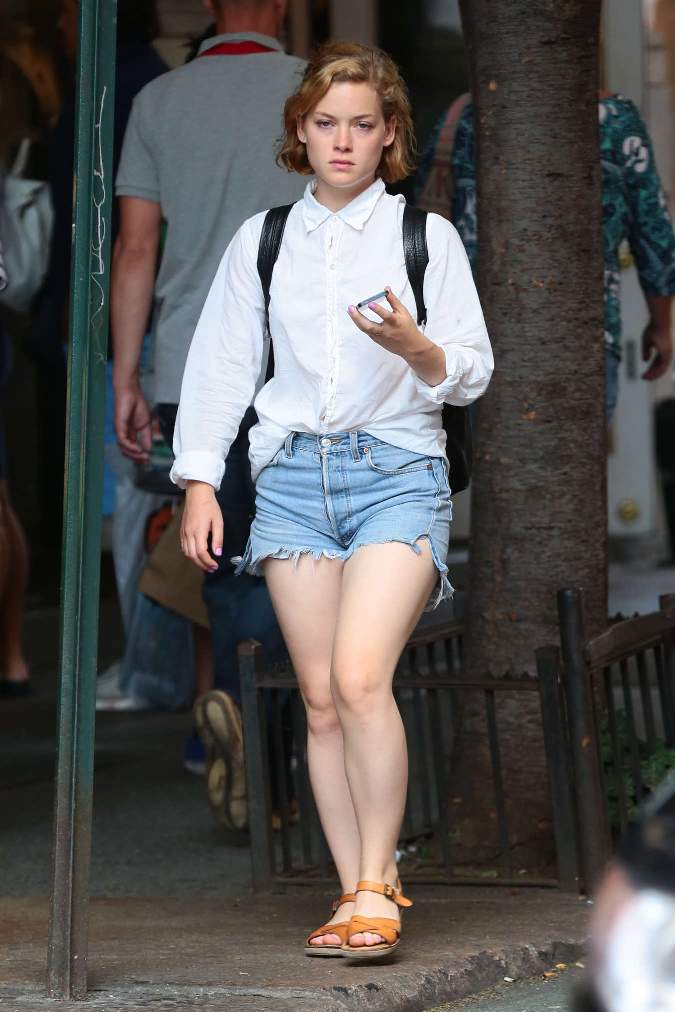 Jane Levy Seen out in New York