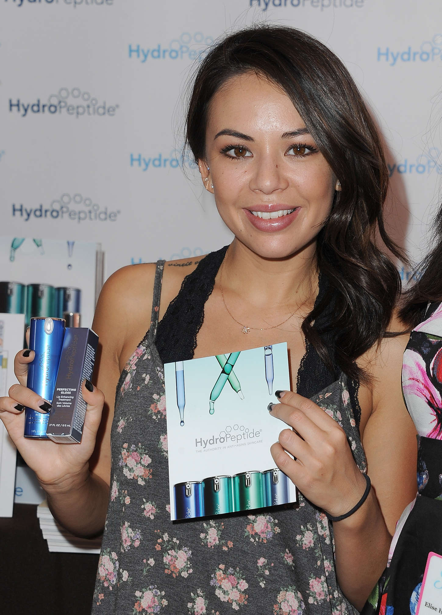 Janel Parrish SPLASH Media Event in Century City