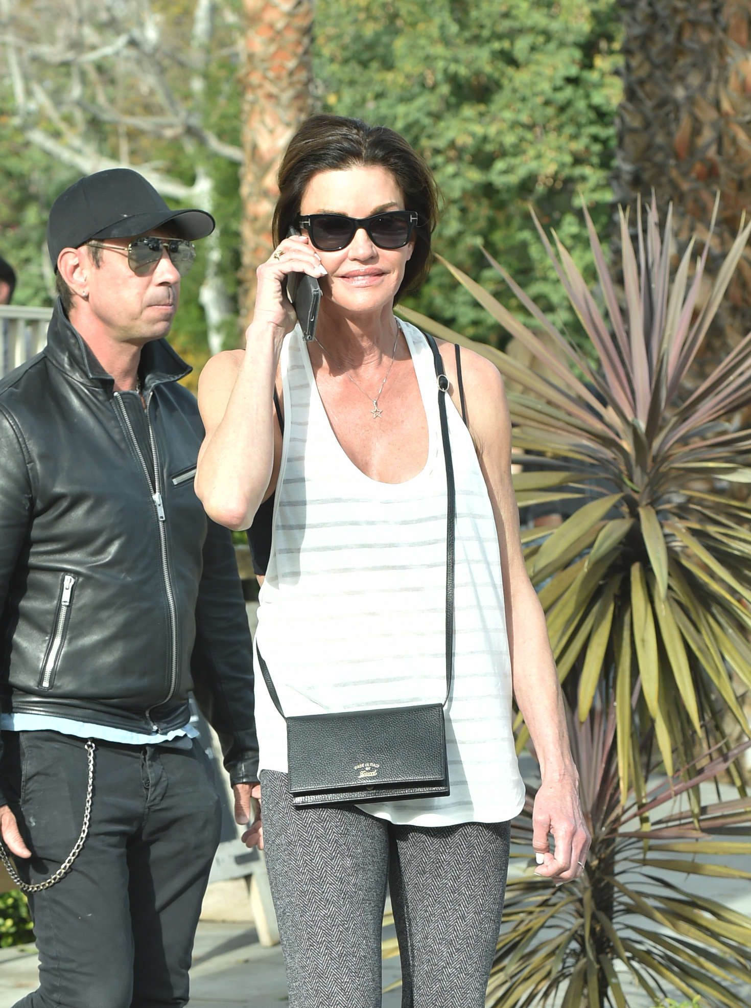 Janice Dickinson on Melrose in West Hollywood