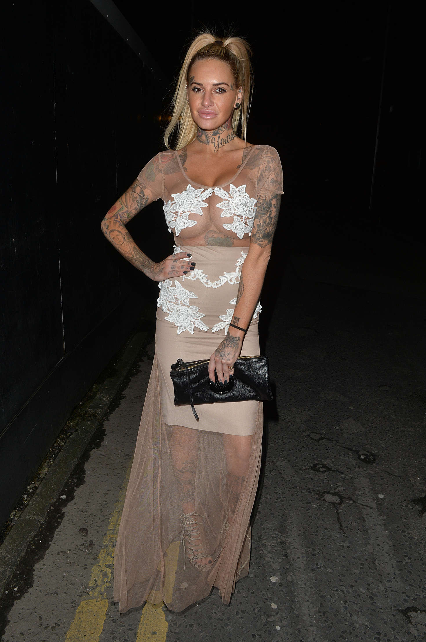 Jemma Lucy Night out at Libertine Club in London