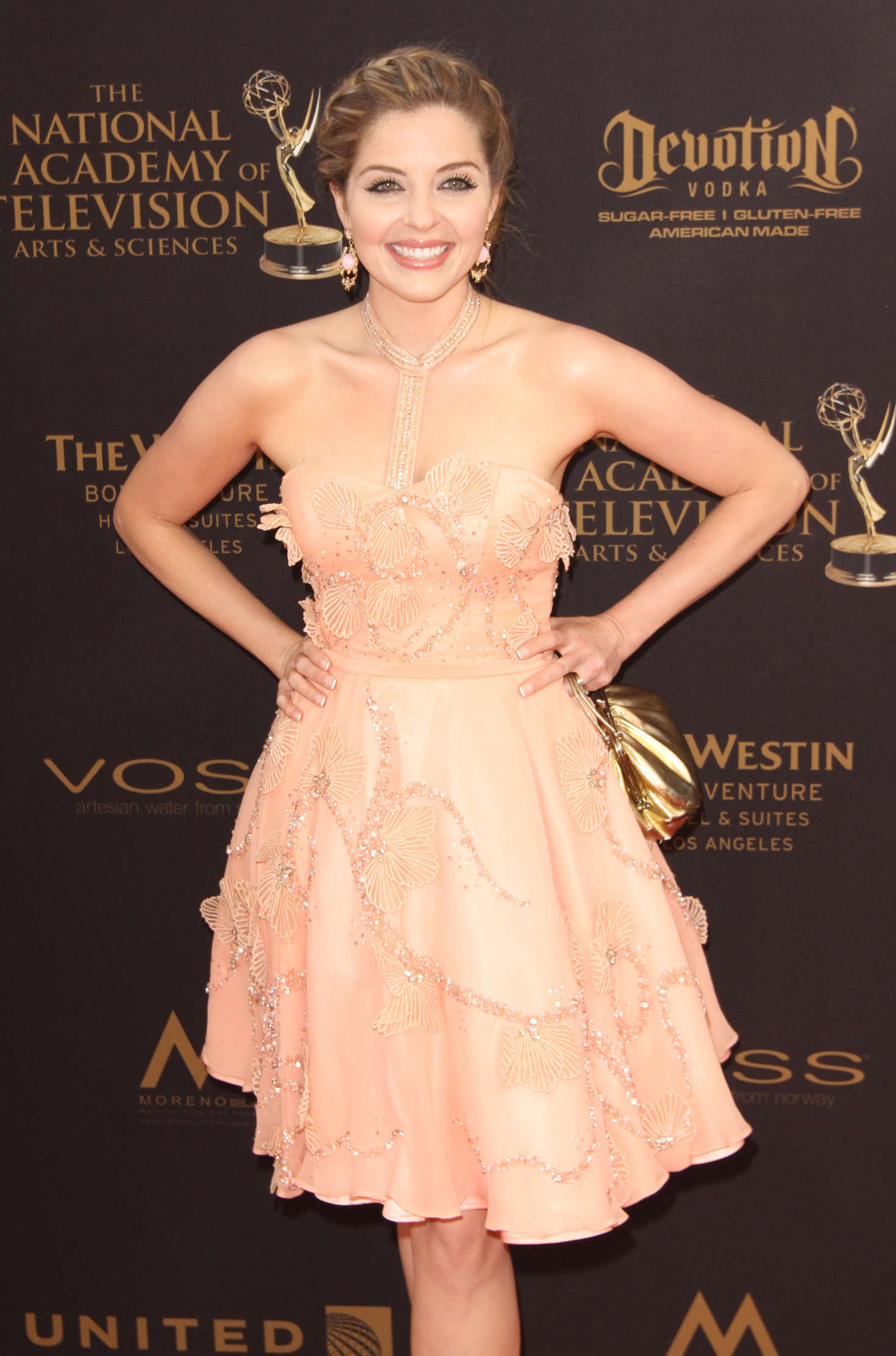 Jen Lilley Daytime Emmy Awards in Los Angeles