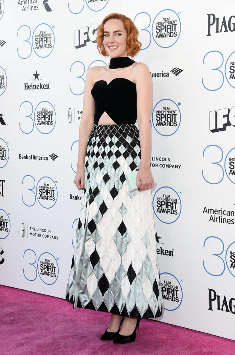 Jena Malone Film Independent Spirit Awards in Santa Monica