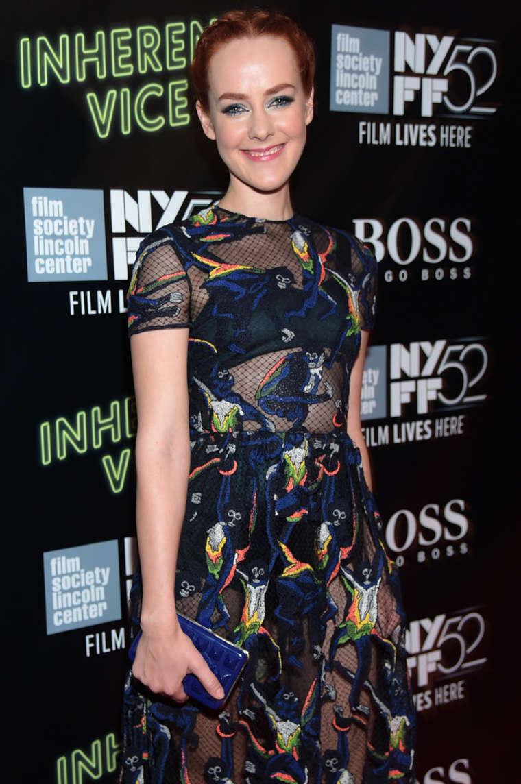 Jena Malone Inherent Vice Premiere in New York