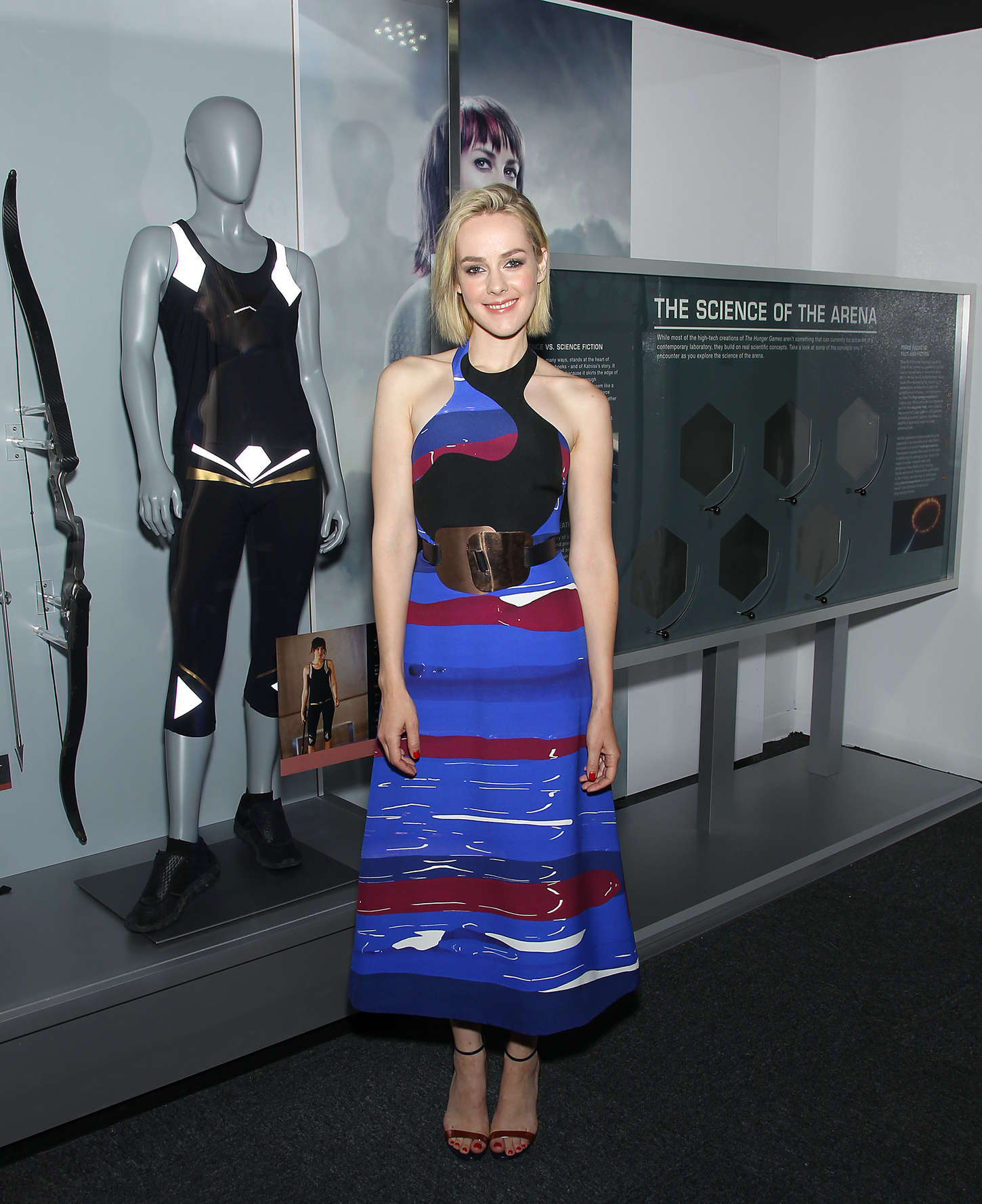 Jena Malone The Hunger Games The Exhibition VIP Event in New York