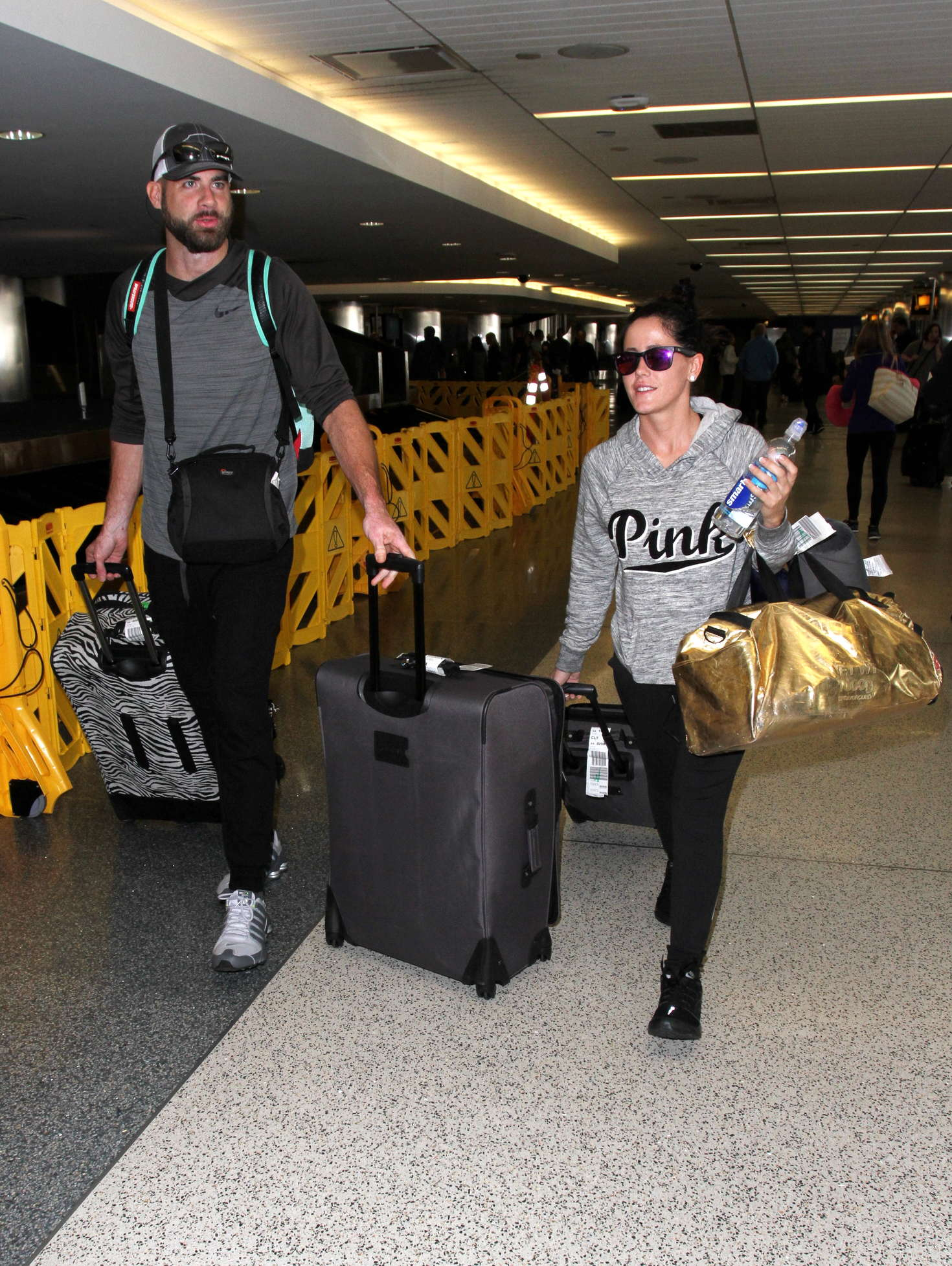Jenelle Evans Arrives at LAX Airport in Los Angeles