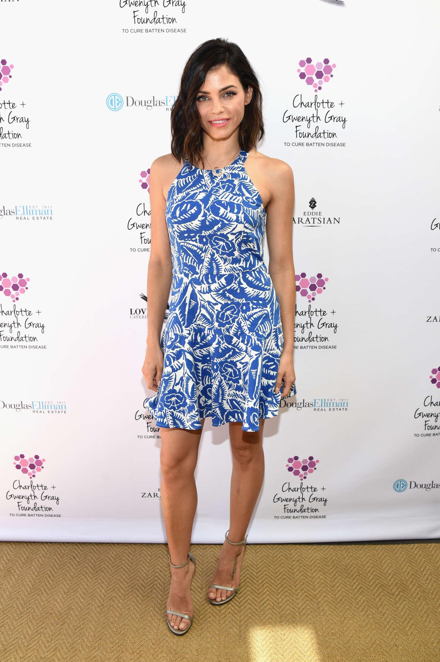 Jenna Dewan Tatum Charlotte Gwenyth Gray Foundation Tea Party in Brentwood