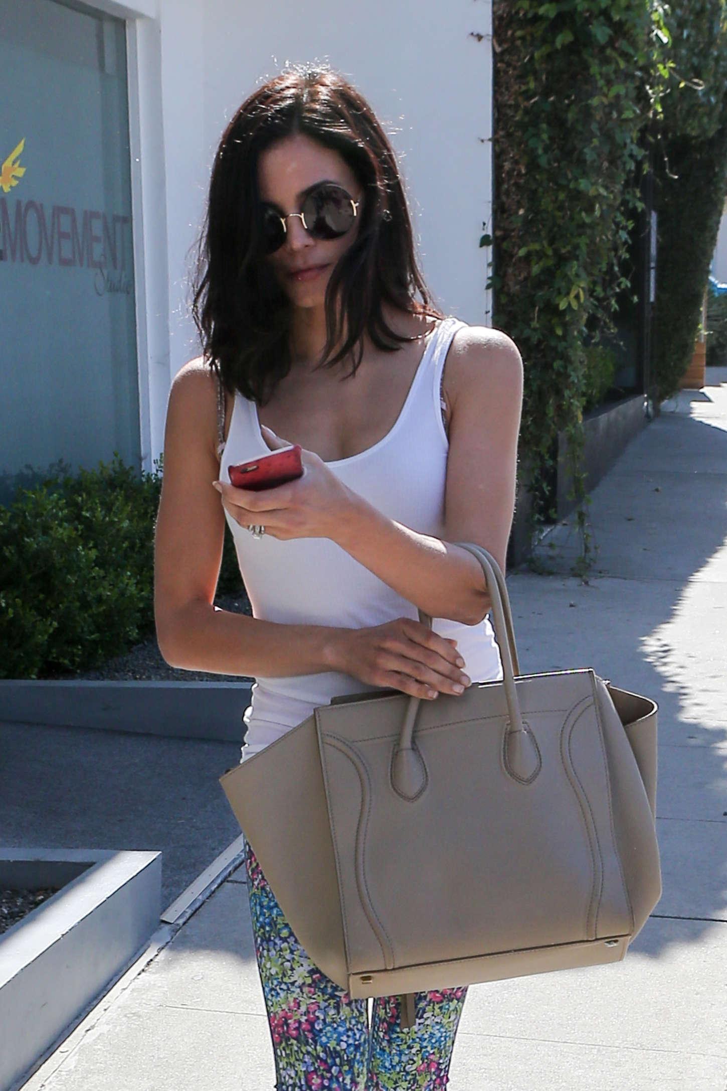 Jenna Dewan Tatum go out in Beverly Hills