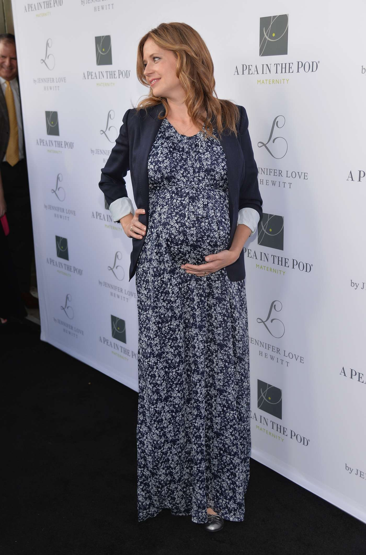 Jenna Fischer A Pea In The Pod L By Jennifer Love Hewitt Launch in Beverly Hills