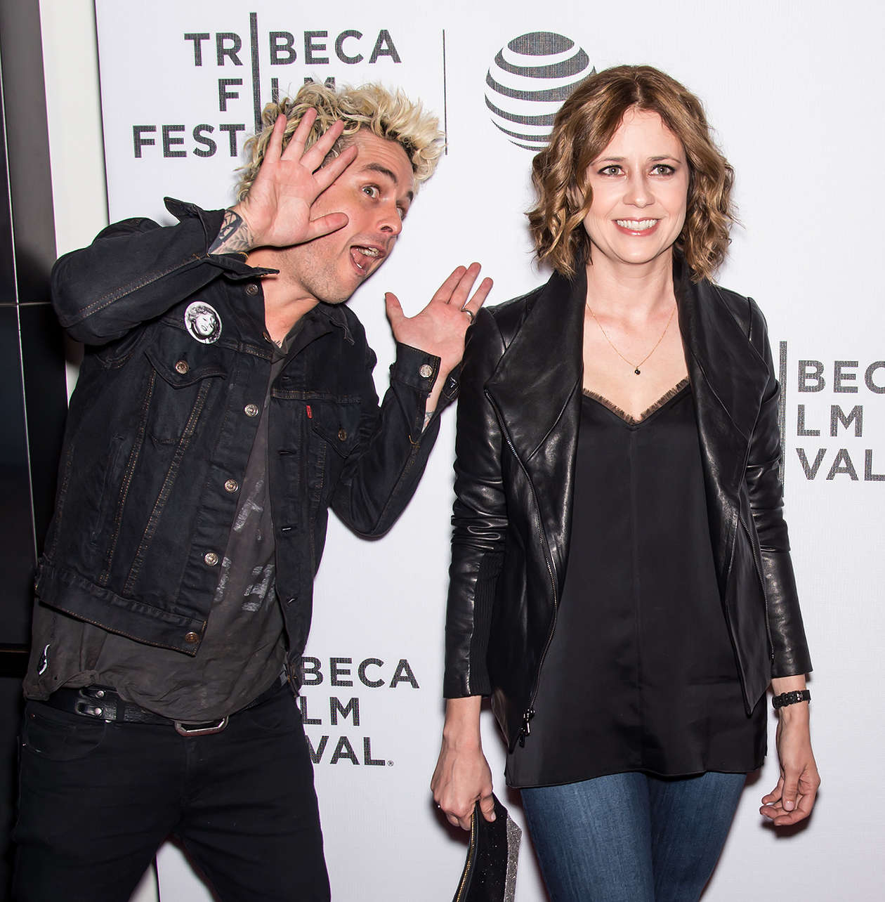 Jenna Fischer Geezer Premiere at Tribeca Film Festival in New York