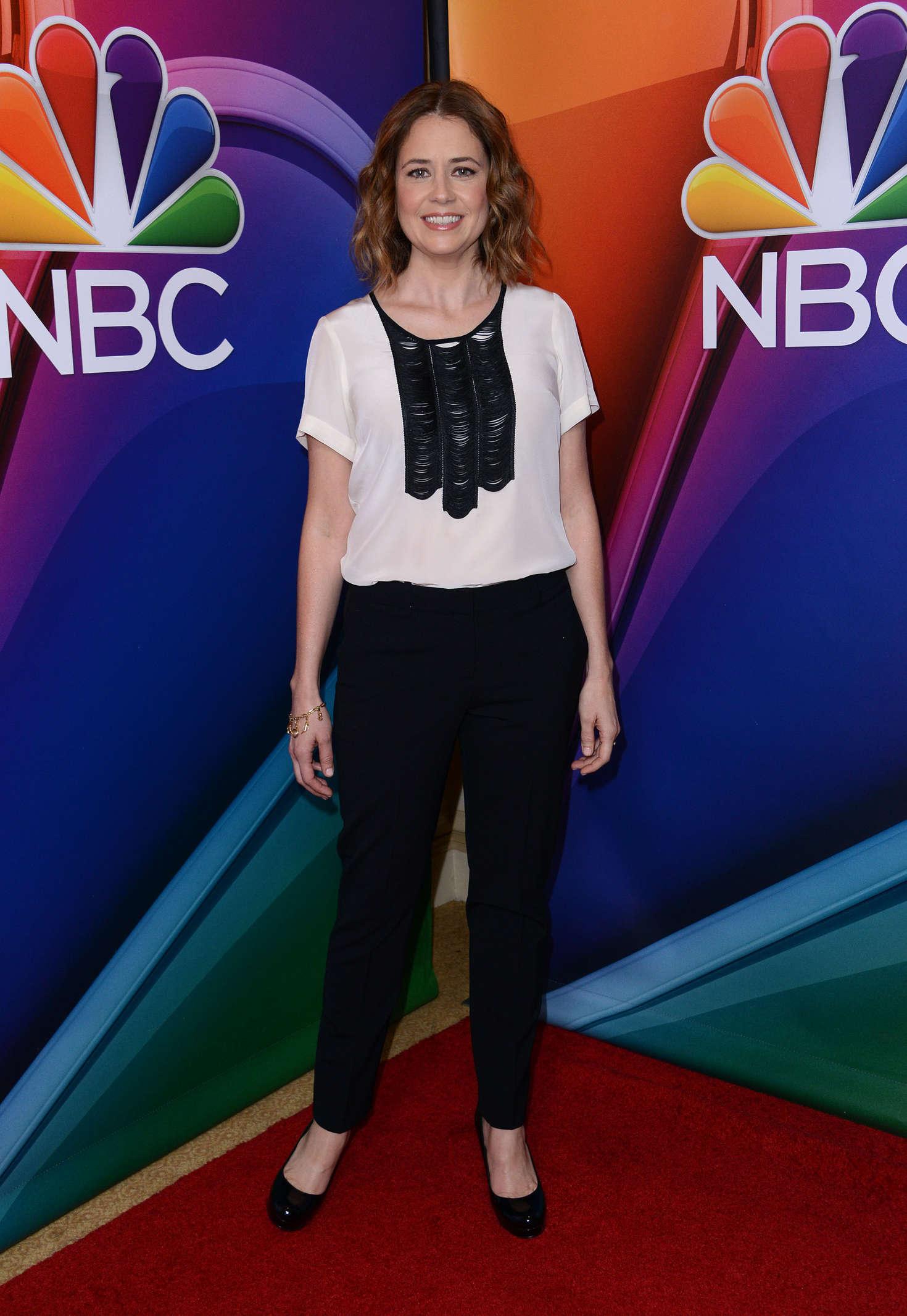 Jenna Fischer NBCUniversal Winter TCA Tour in Pasadena