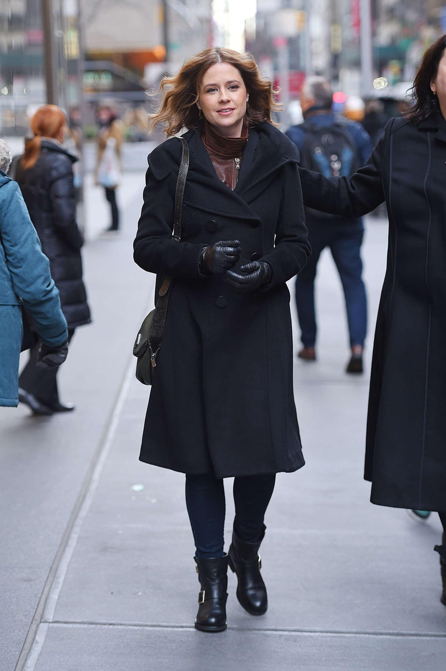 Jenna Fischer out in Manhattan