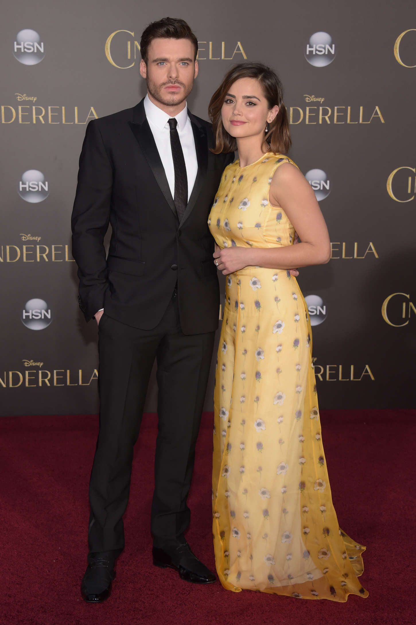 Jenna Louise Coleman Cinderella Premiere in Hollywood
