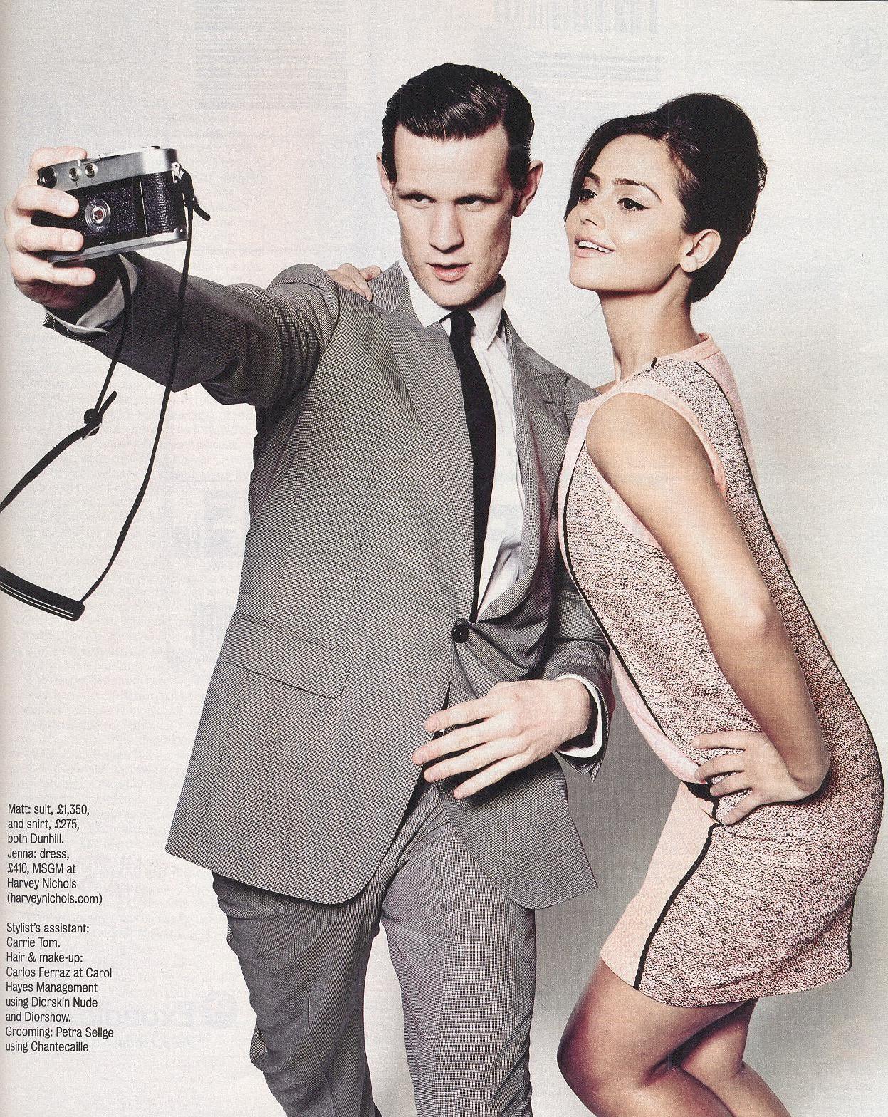 Jenna Louise Coleman The Times Magazine