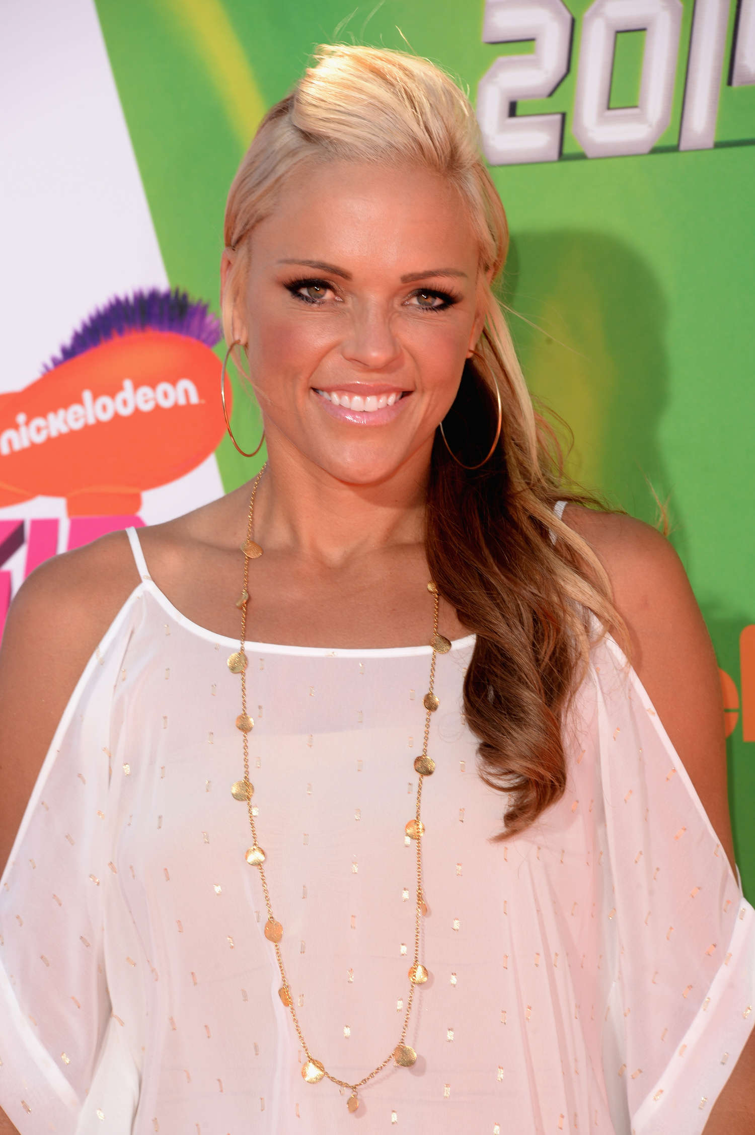Jennie Finch Nickelodeon Kids Choice Sports Awards in Los Angeles