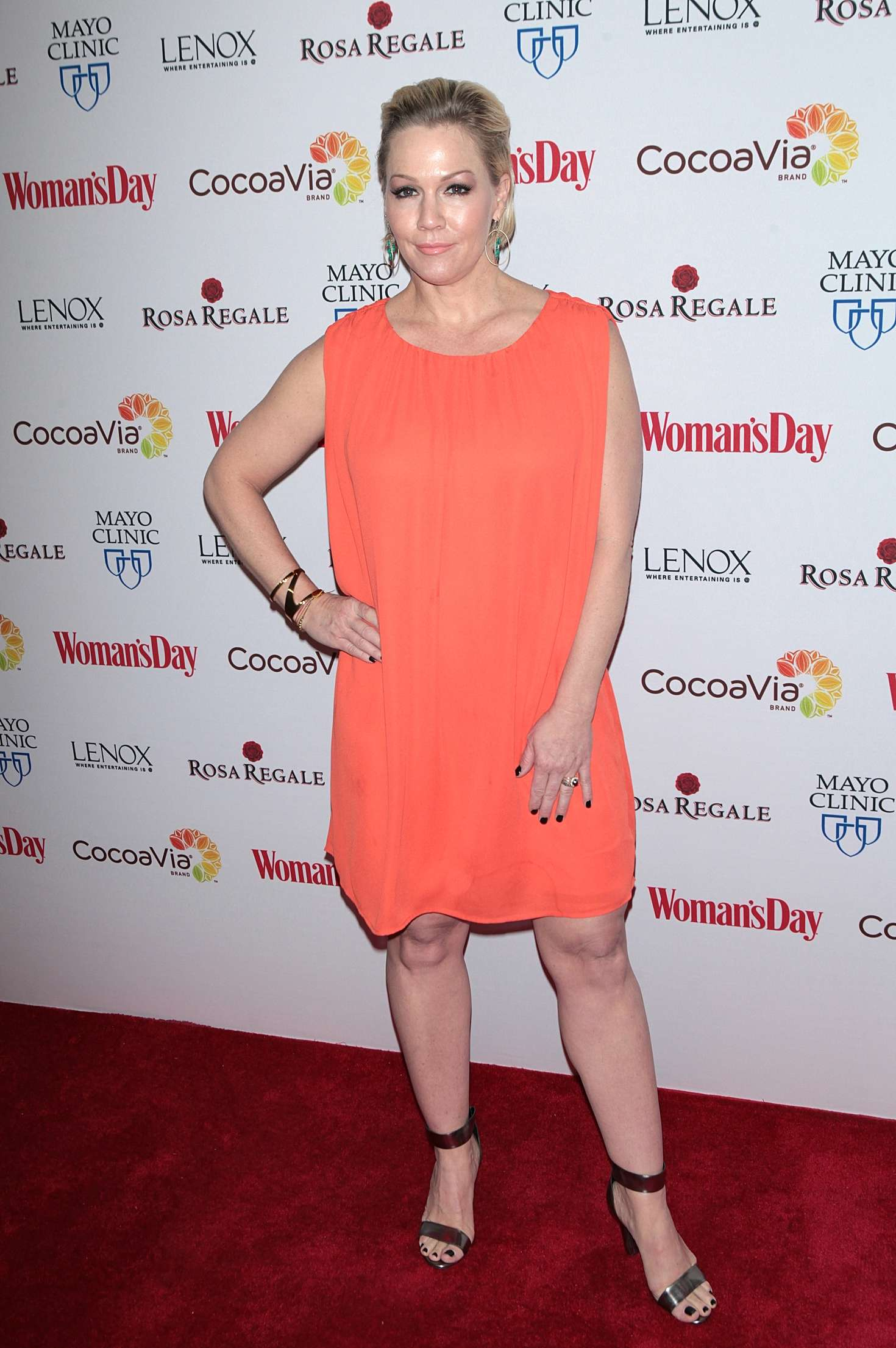 Jennie Garth Womans Day Annual Red Dress Awards in New York