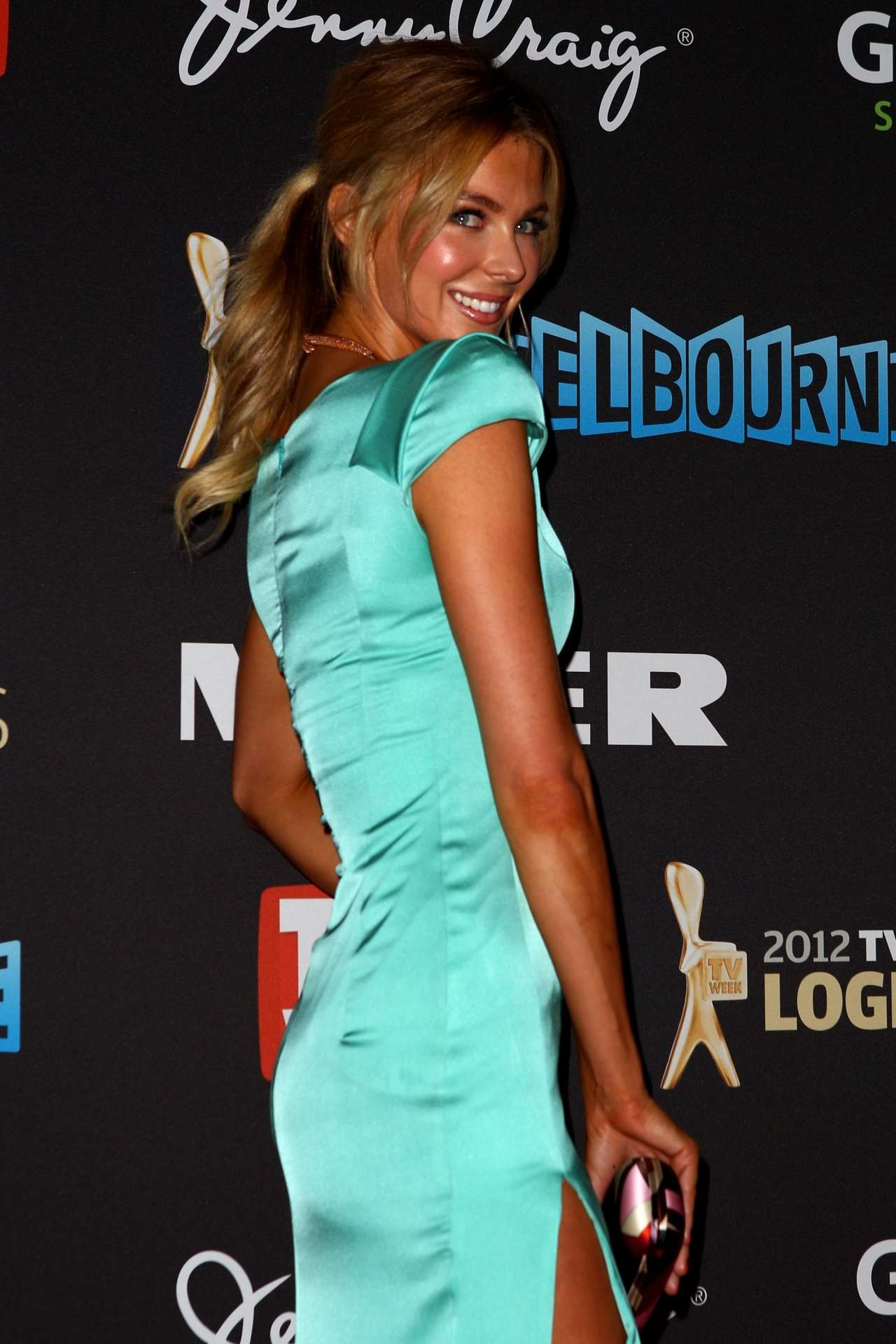 Jennifer Hawkins at Logie Awards