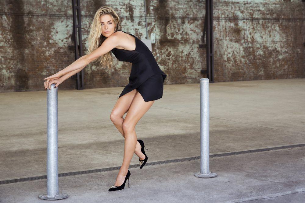 Jennifer Hawkins JLH Shoe Campaign A W