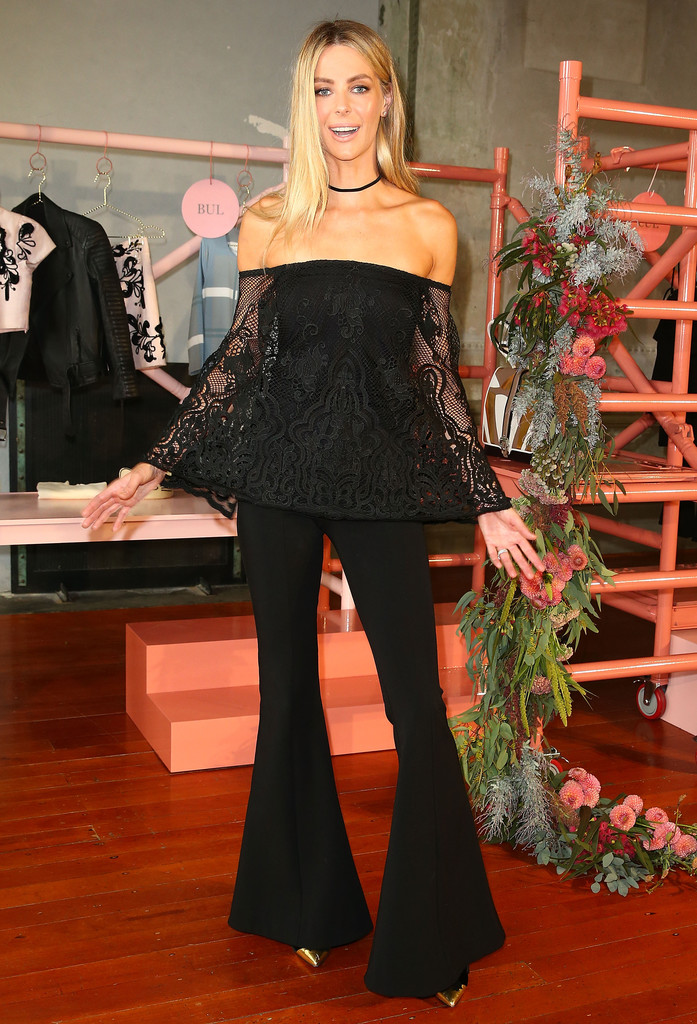 Jennifer Hawkins Myer Contemporary Brands Collections Launch in Melbourne