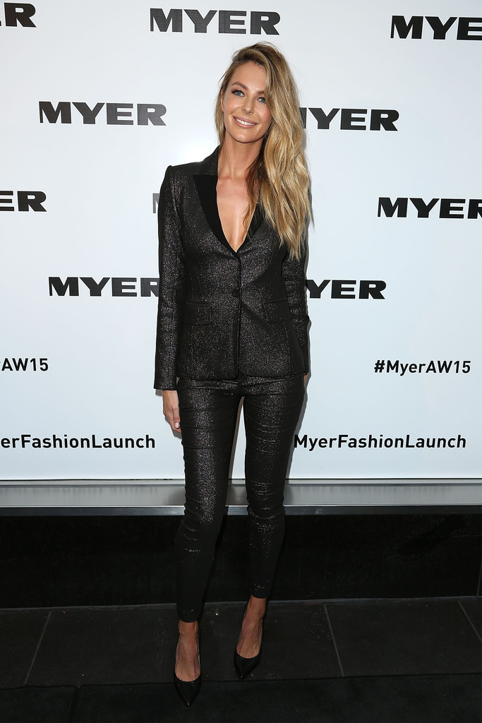 Jennifer Hawkins Myers AW15 Season Launch in Melbourne