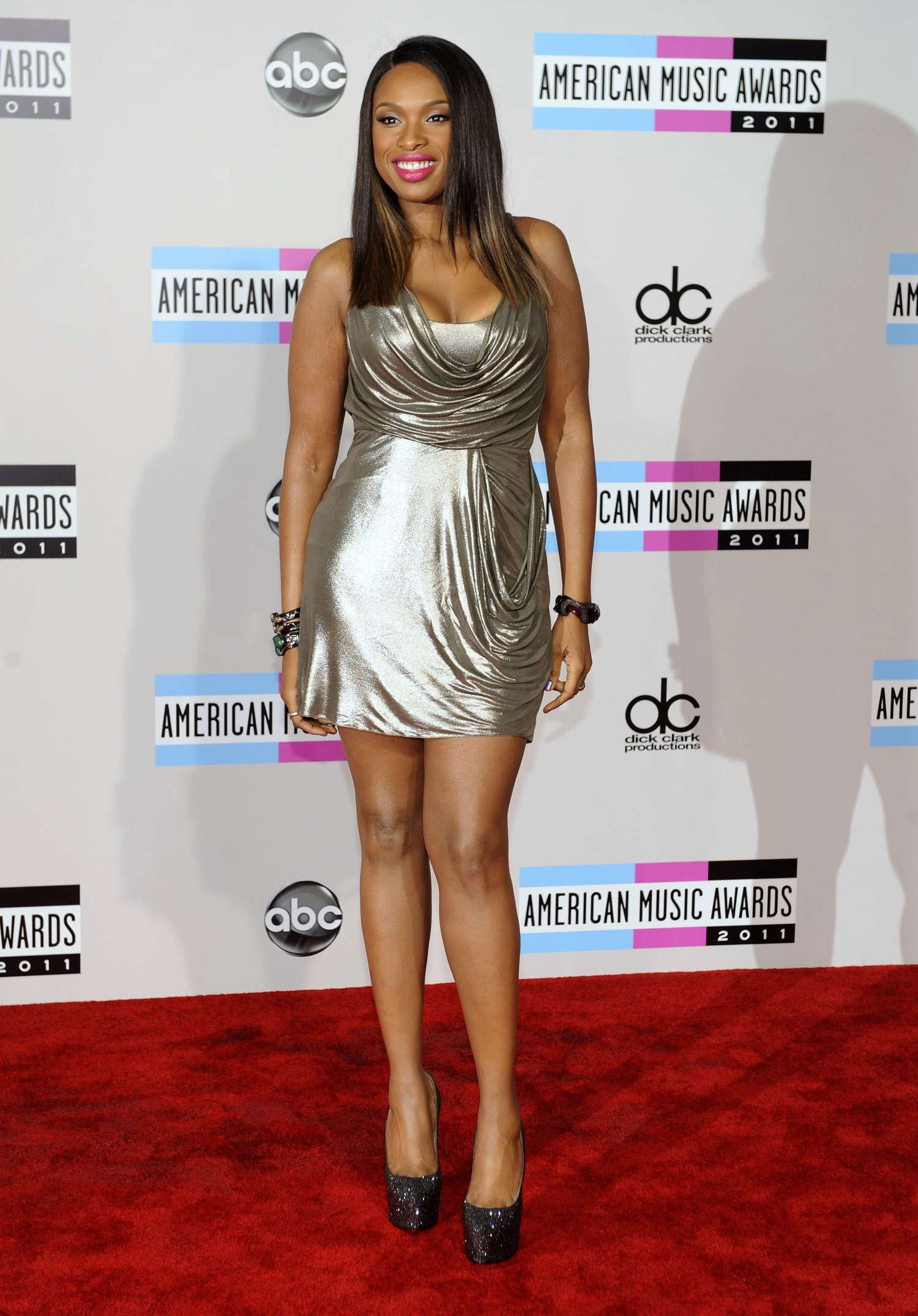 Jennifer Hudson at Annual American Music Awards