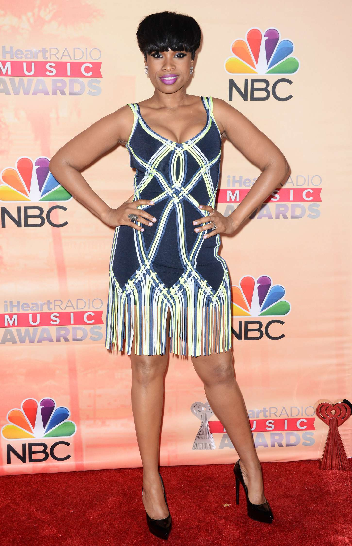 Jennifer Hudson iHeartRadio Music Awards in Los Angeles