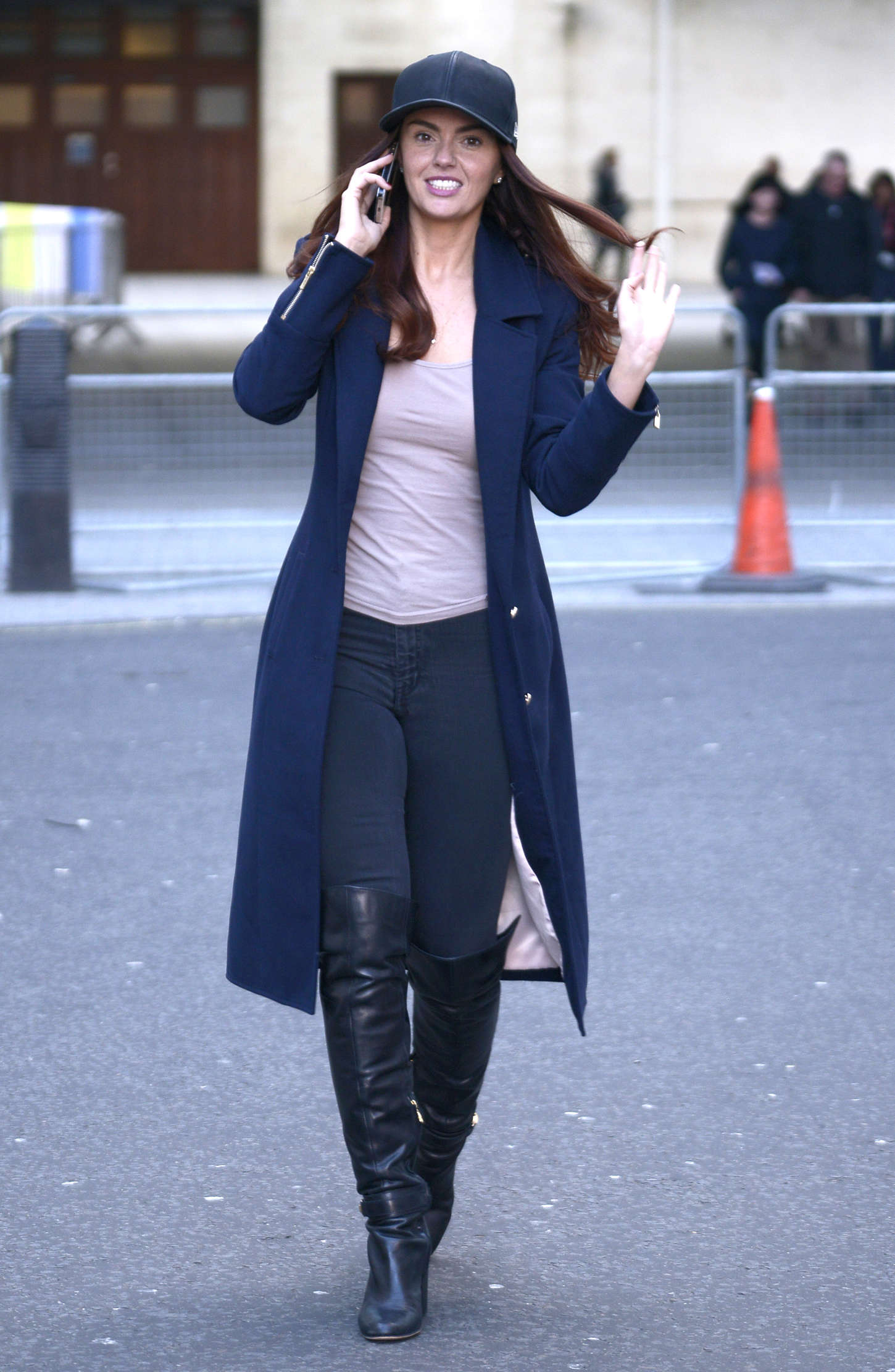 Jennifer Metcalfe BBC Radio Studios in London