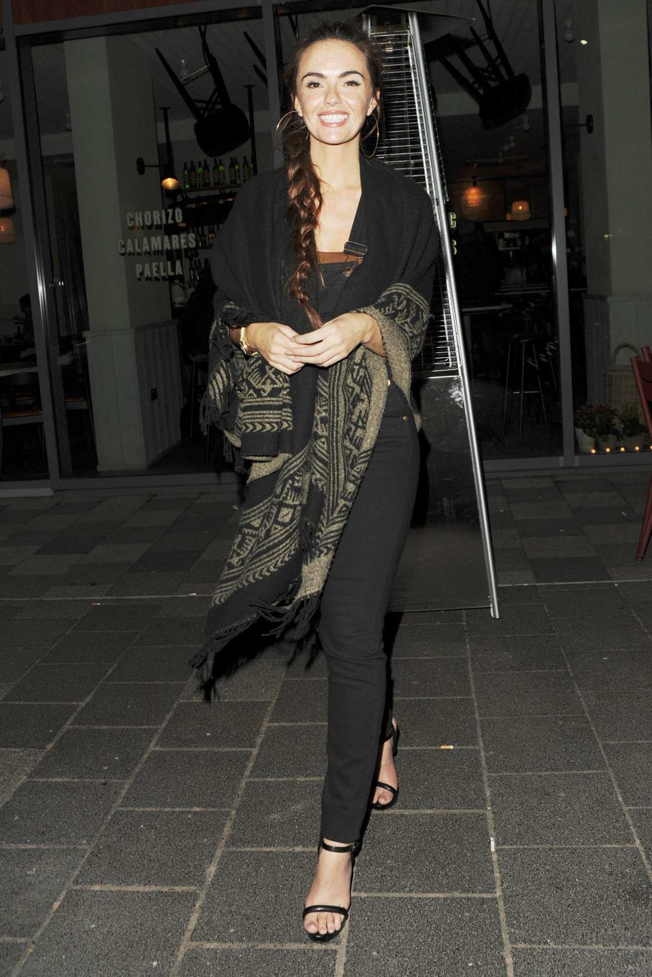 Jennifer Metcalfe Tapas Revolution in Shoreditch