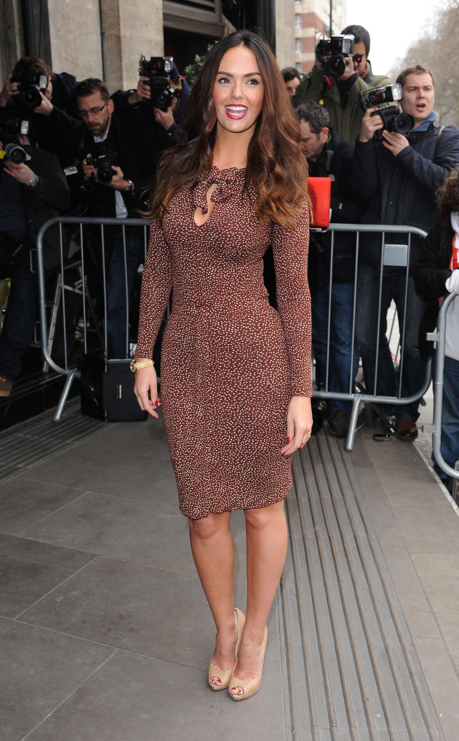 Jennifer Metcalfe TRIC Awards in London
