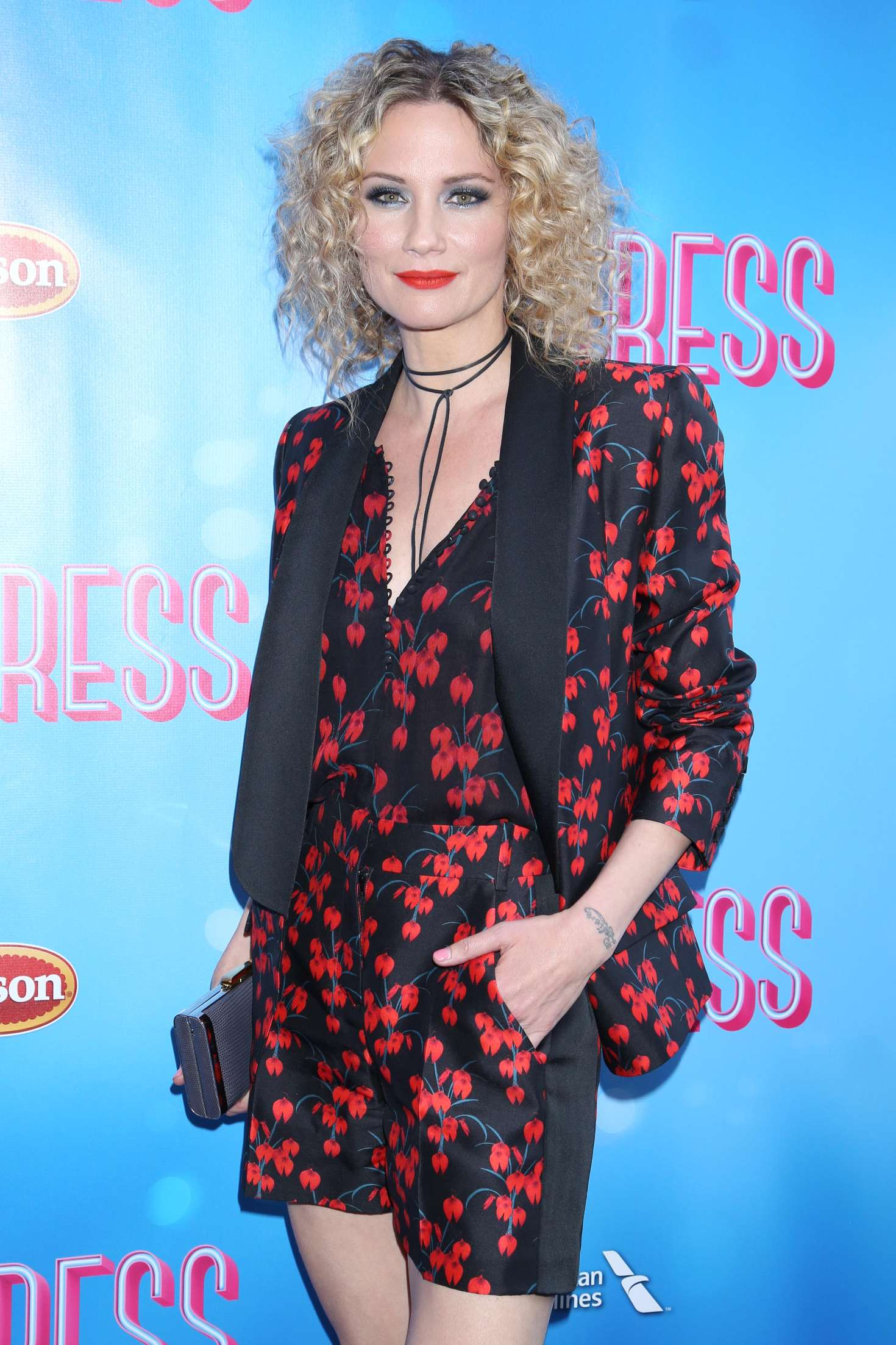 Jennifer Nettles Opening Night of Waitress at The Brooks Atkinson Theatre in New York